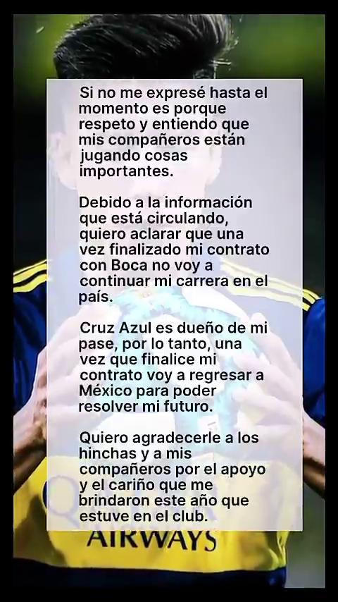 Pol Fernández, en conflicto con Boca, rompió el silencio y se refirió al supuesto interés de River