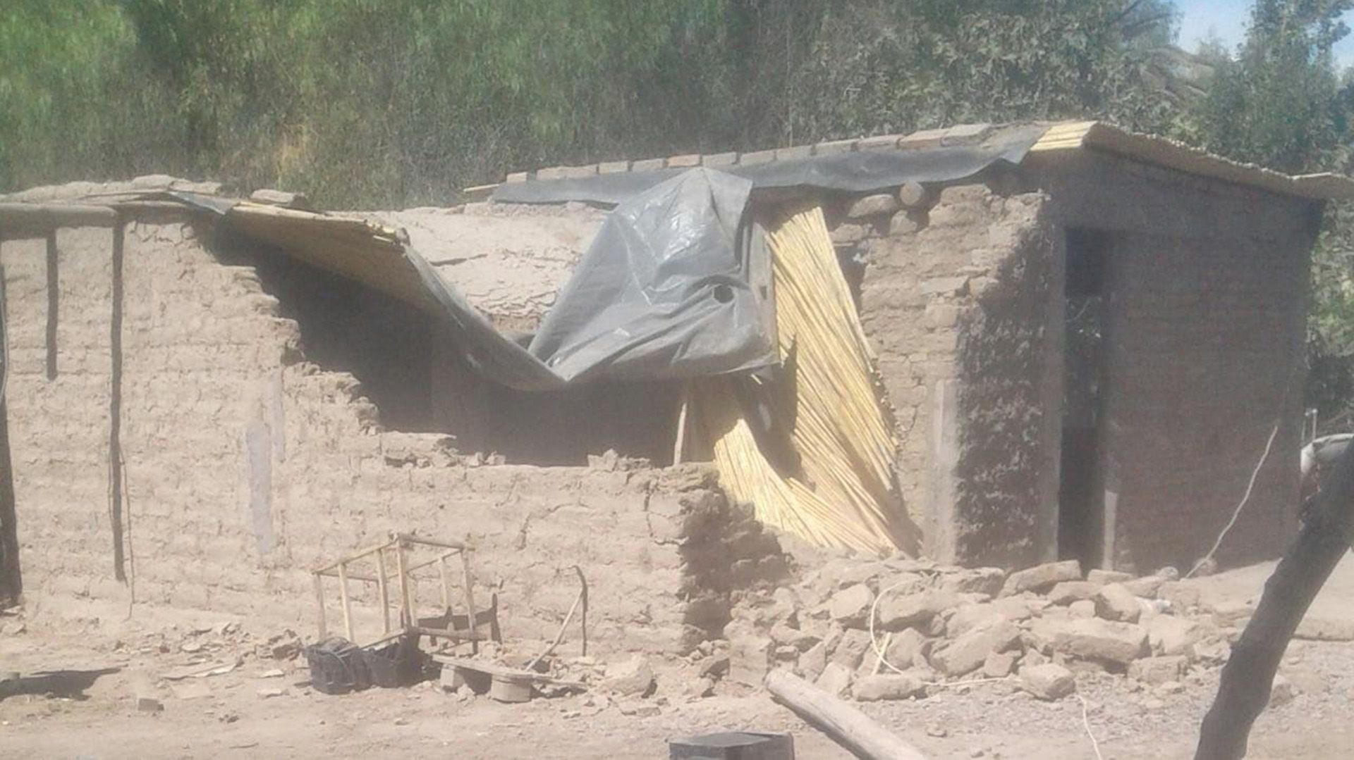 Eve Molina damnificada Terremoto San Juan