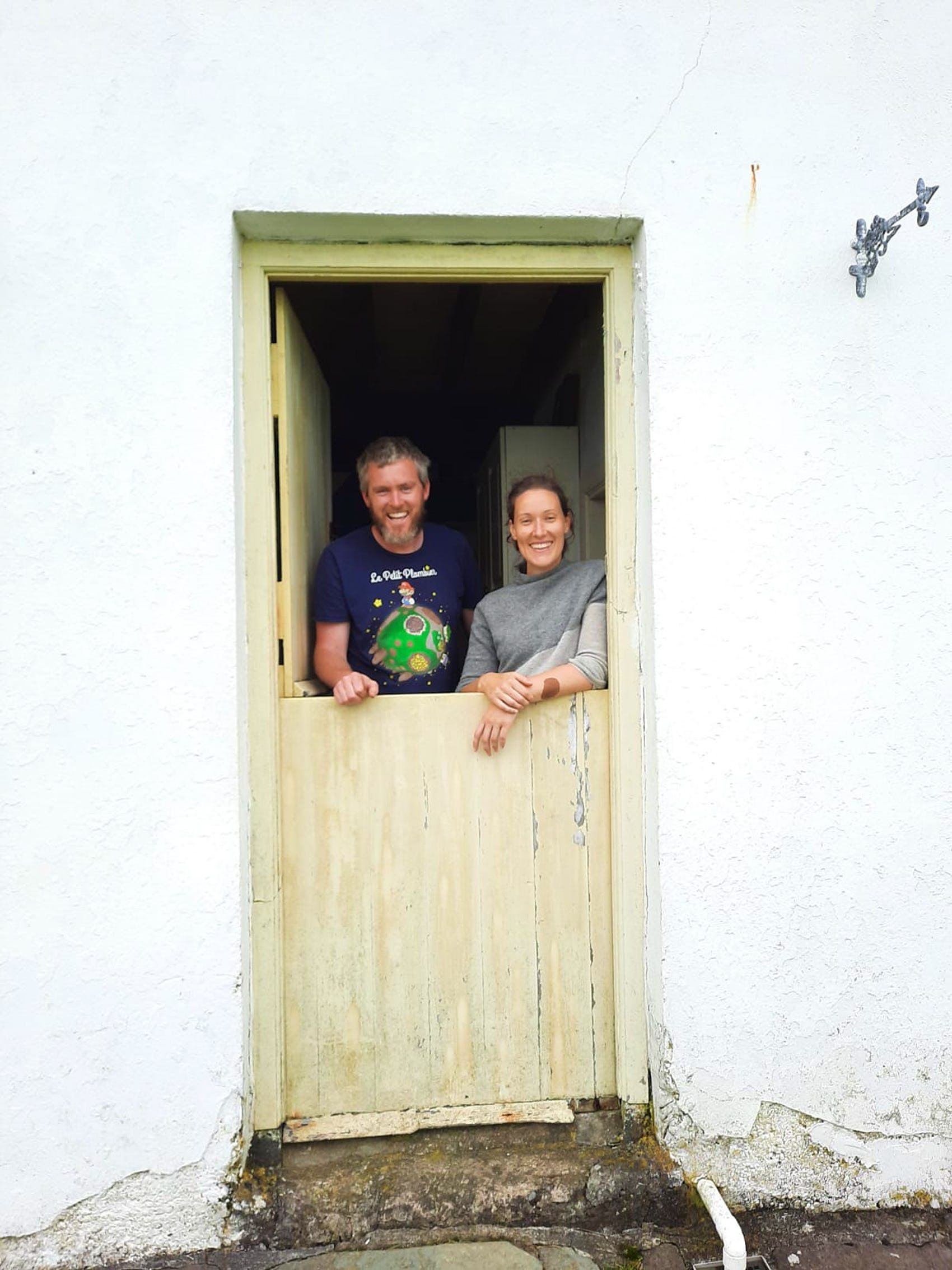 Annie Birney and Eoin Boyle (Great Basket Island)
