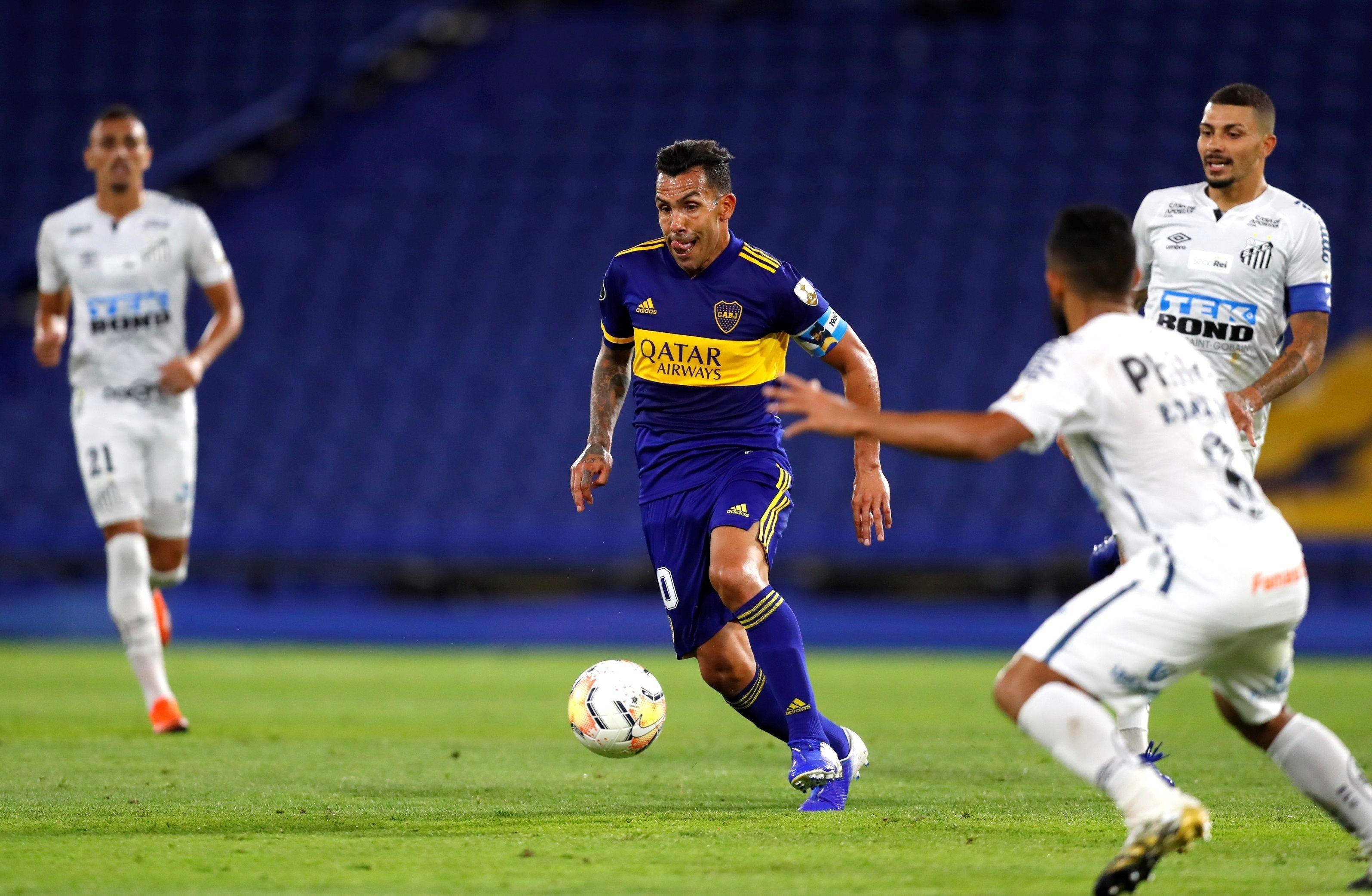 Carlos Tevez será clave para que Boca pueda avanzar en la Copa Libertadores (EFE)