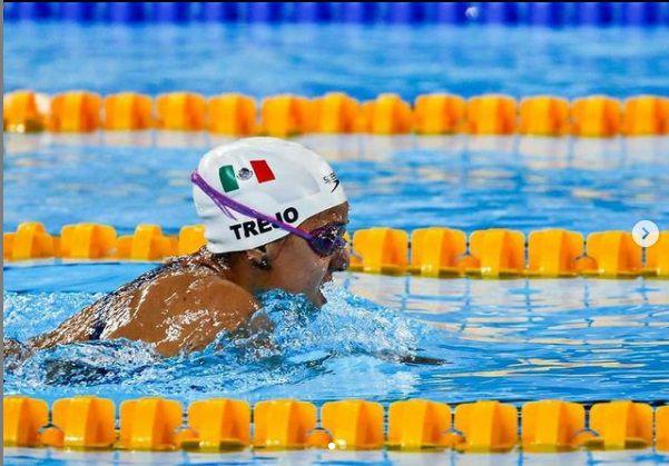 Vianney Trejo atleta olímpica