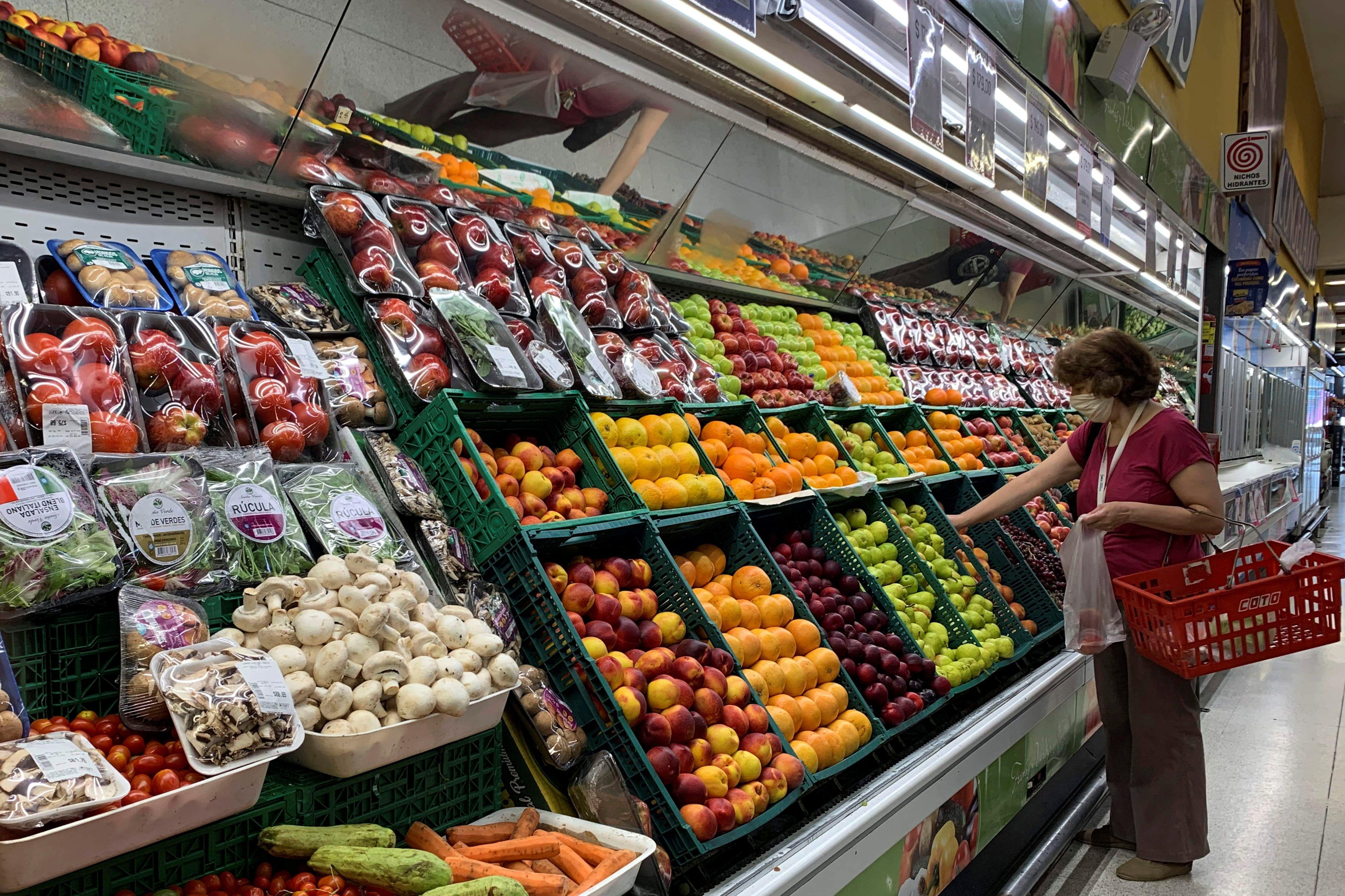 Fuerte aumento de las frutas y verduras por la estacionalidad