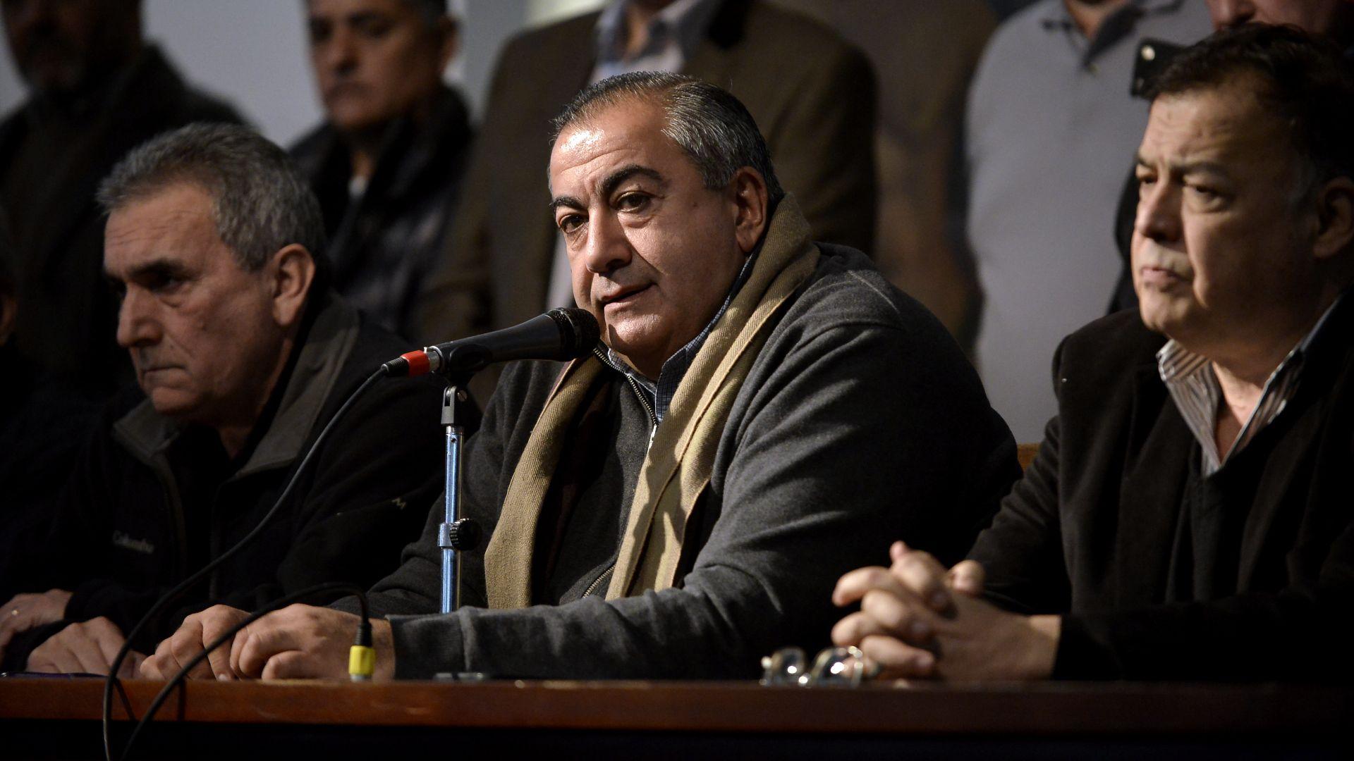 El secretario General de la CGT, Héctor Daer, participó del encuentro con el ministro de Economía Martín Guzmán. (Gustavo Gavotti)