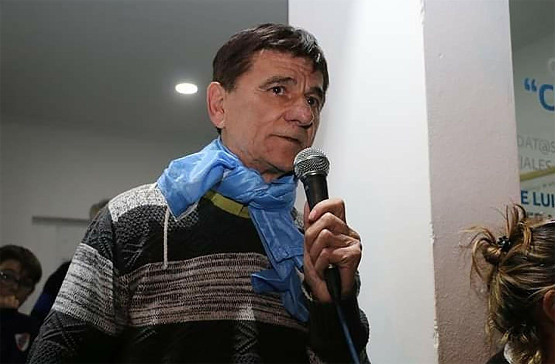 Gasparini es intendente de Roque Pérez desde 2011