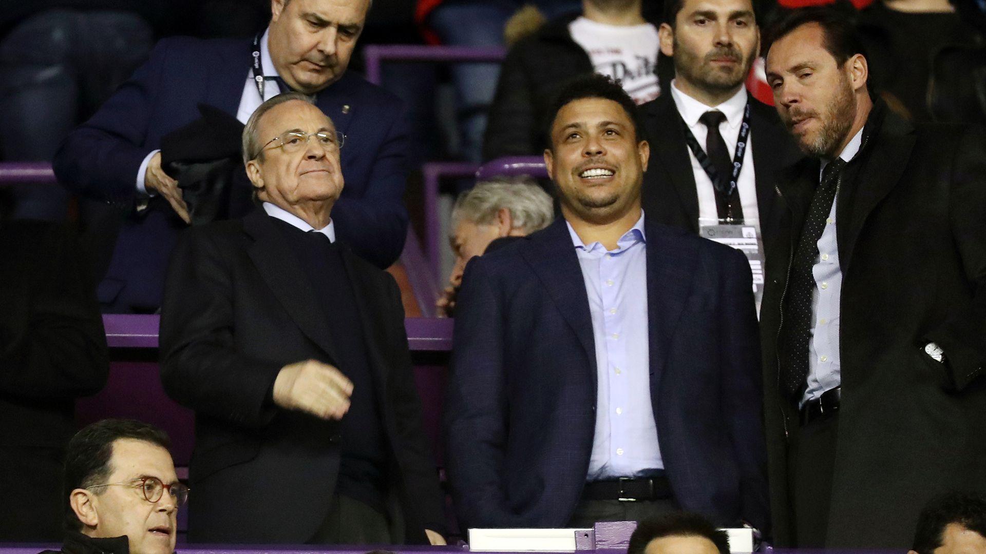 Problemas para Florentino Pérez y Ronaldo por una investigación de los llamados Football Leaks (REUTERS/Sergio Perez)