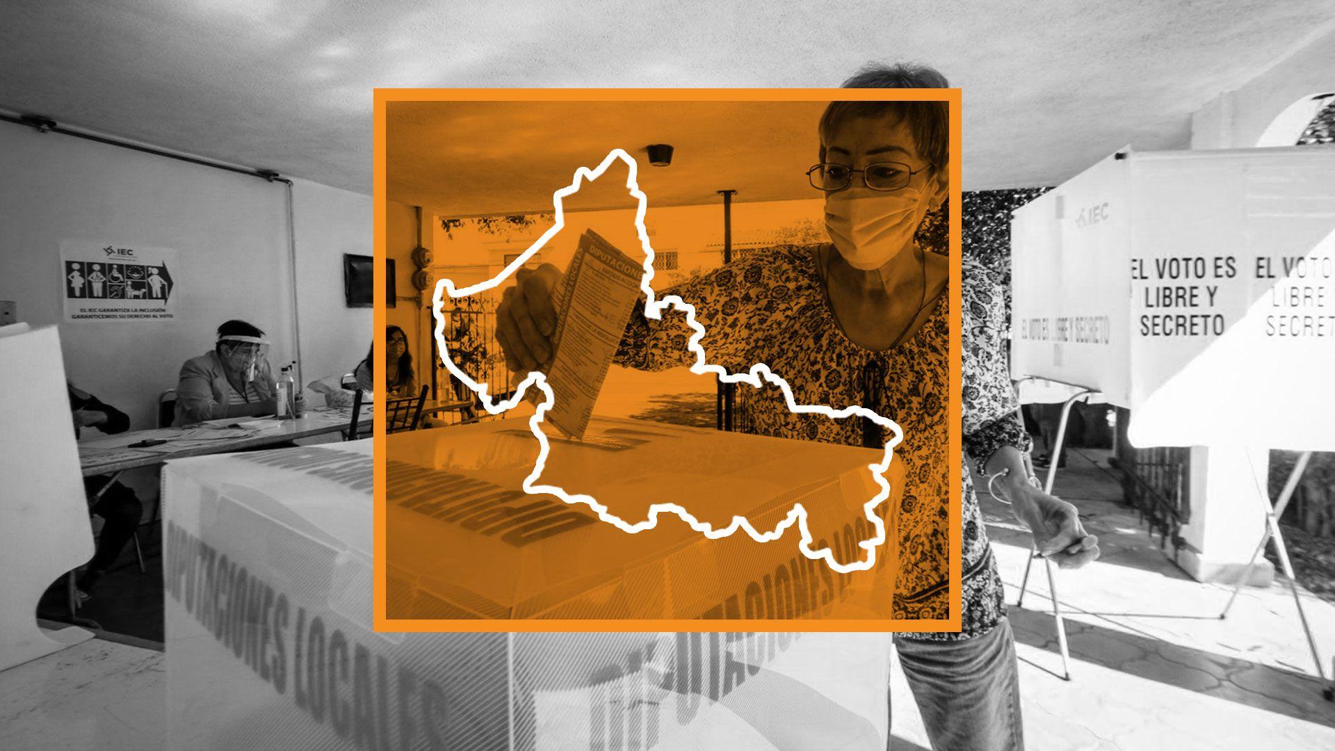 Elecciones en México: San Luis Potosí (Ilustración: Jovani/Infobae)