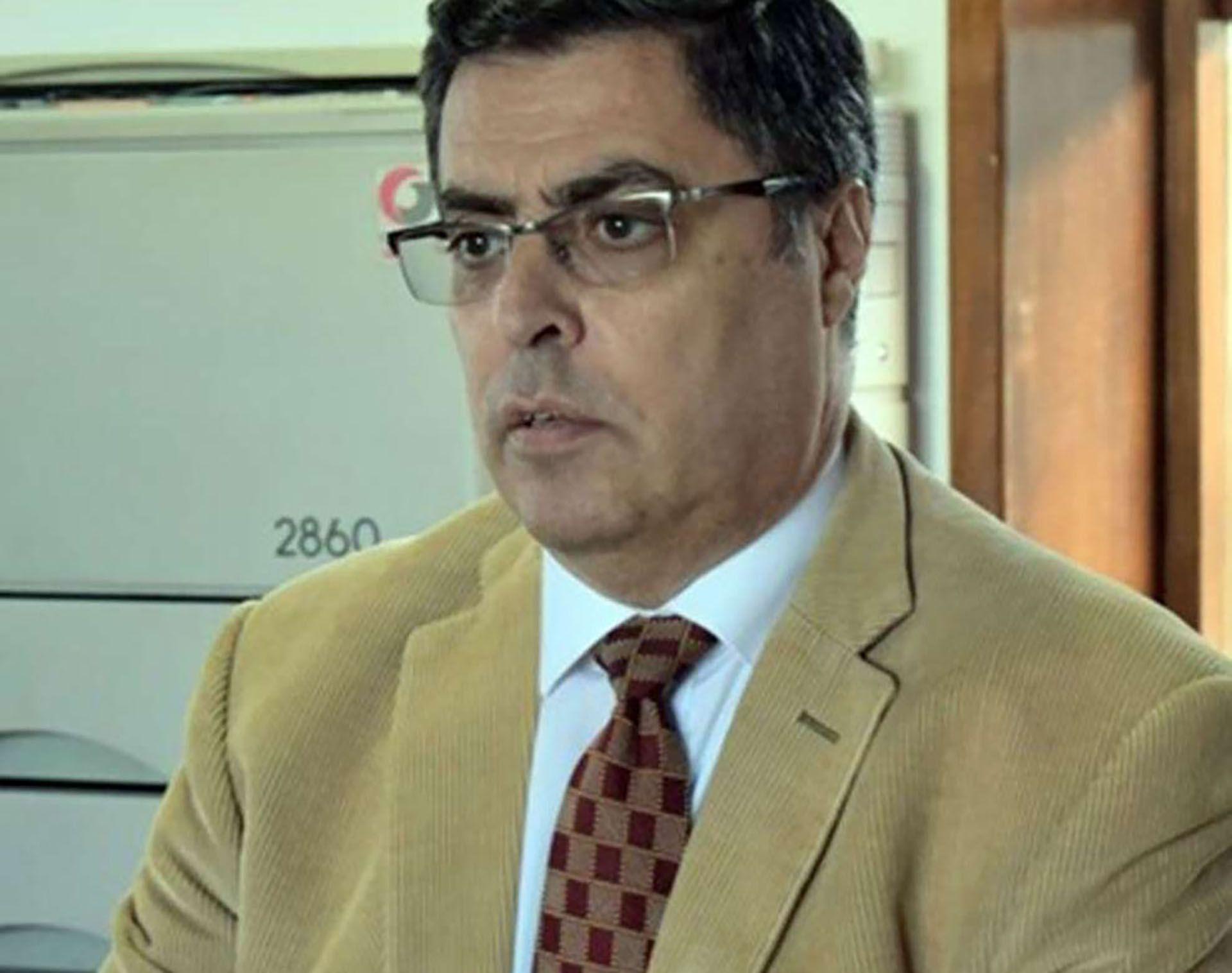 """El juez de Río Grande Raúl Sahade, investigador e investigado por supuestamente """"arreglar"""" fallos."""