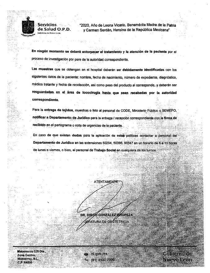 denuncias por aborto Nuevo León