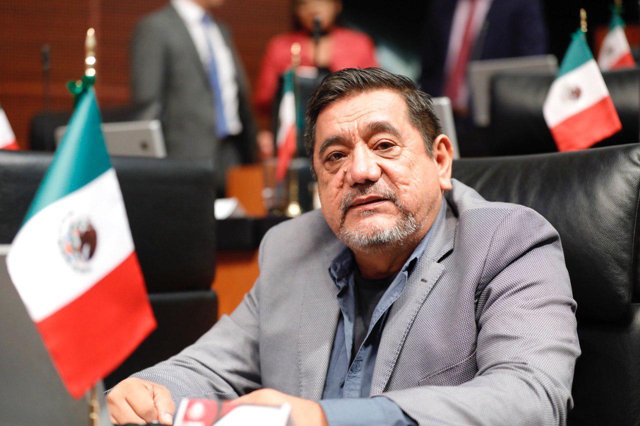 Félix Salgado Macedonio (Foto: morena.senado.gob.mx)