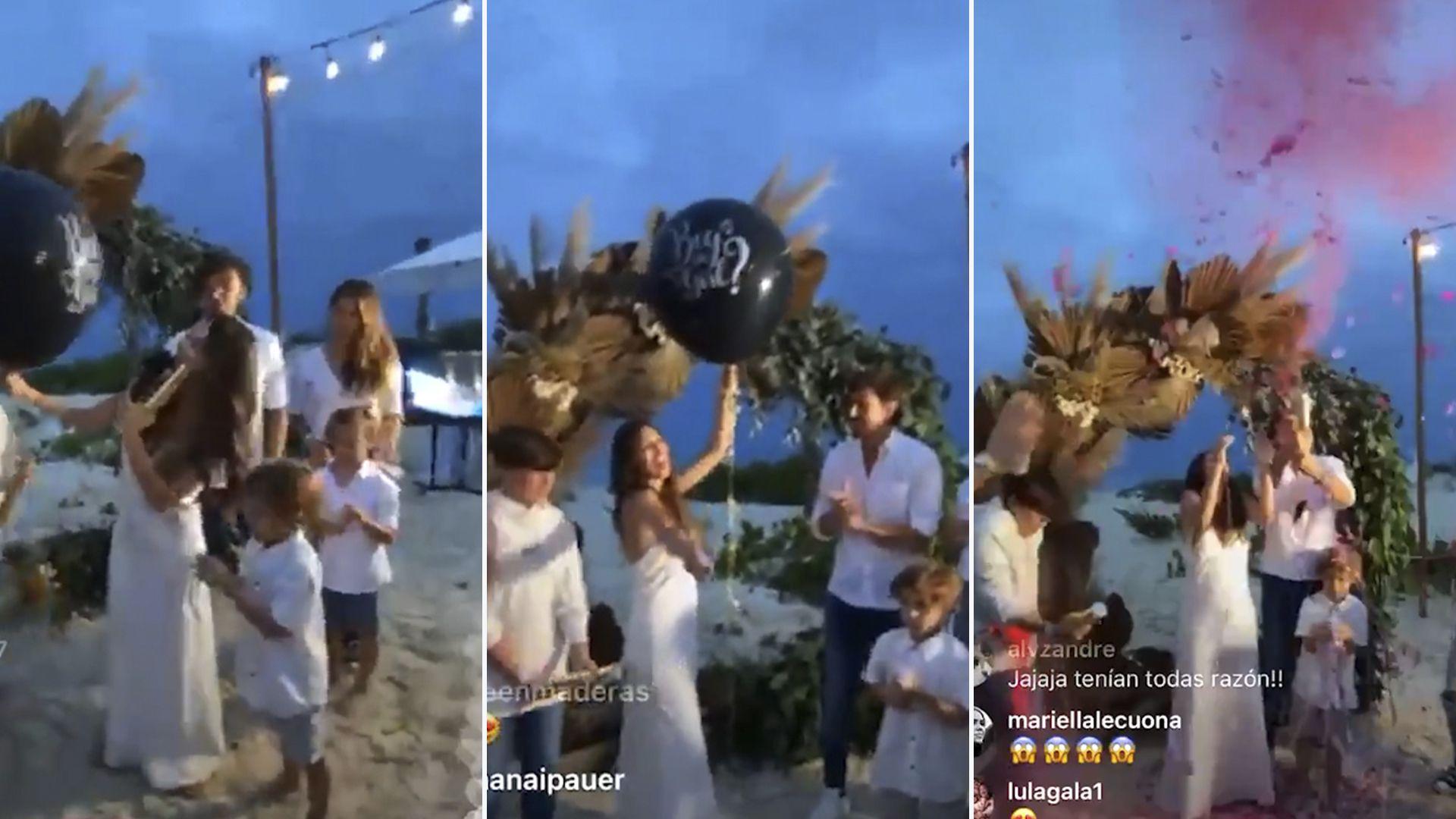 Pampita confirmó que está embarazada de una nena