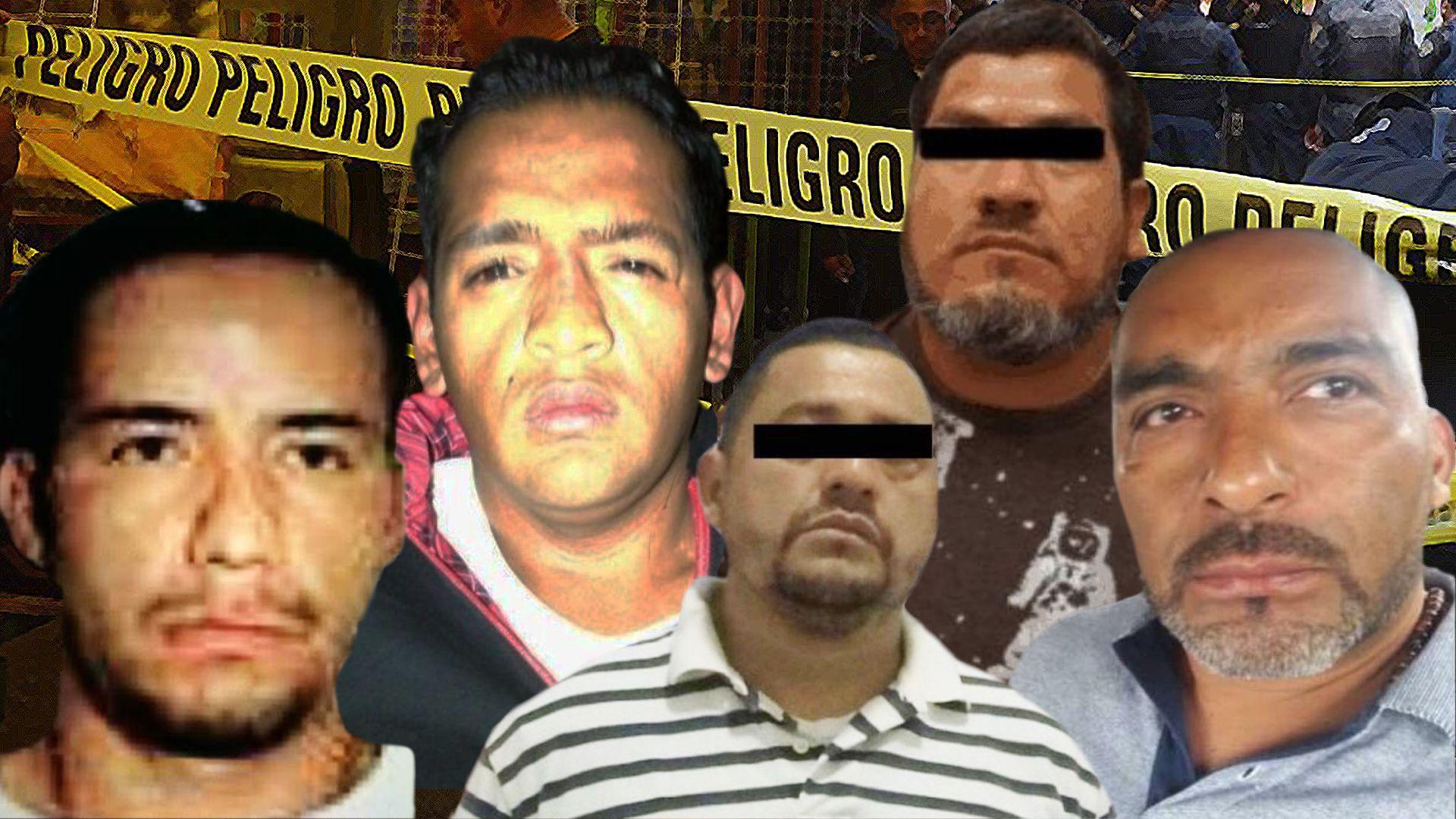 Los líderes de la unión Tepito fueron cayendo uno a uno hasta que solo quedó el Betito, actualmente preso con operadores que mantienen vigente el dominio del grupo criminal (Foto: Ilustración: Infobae)