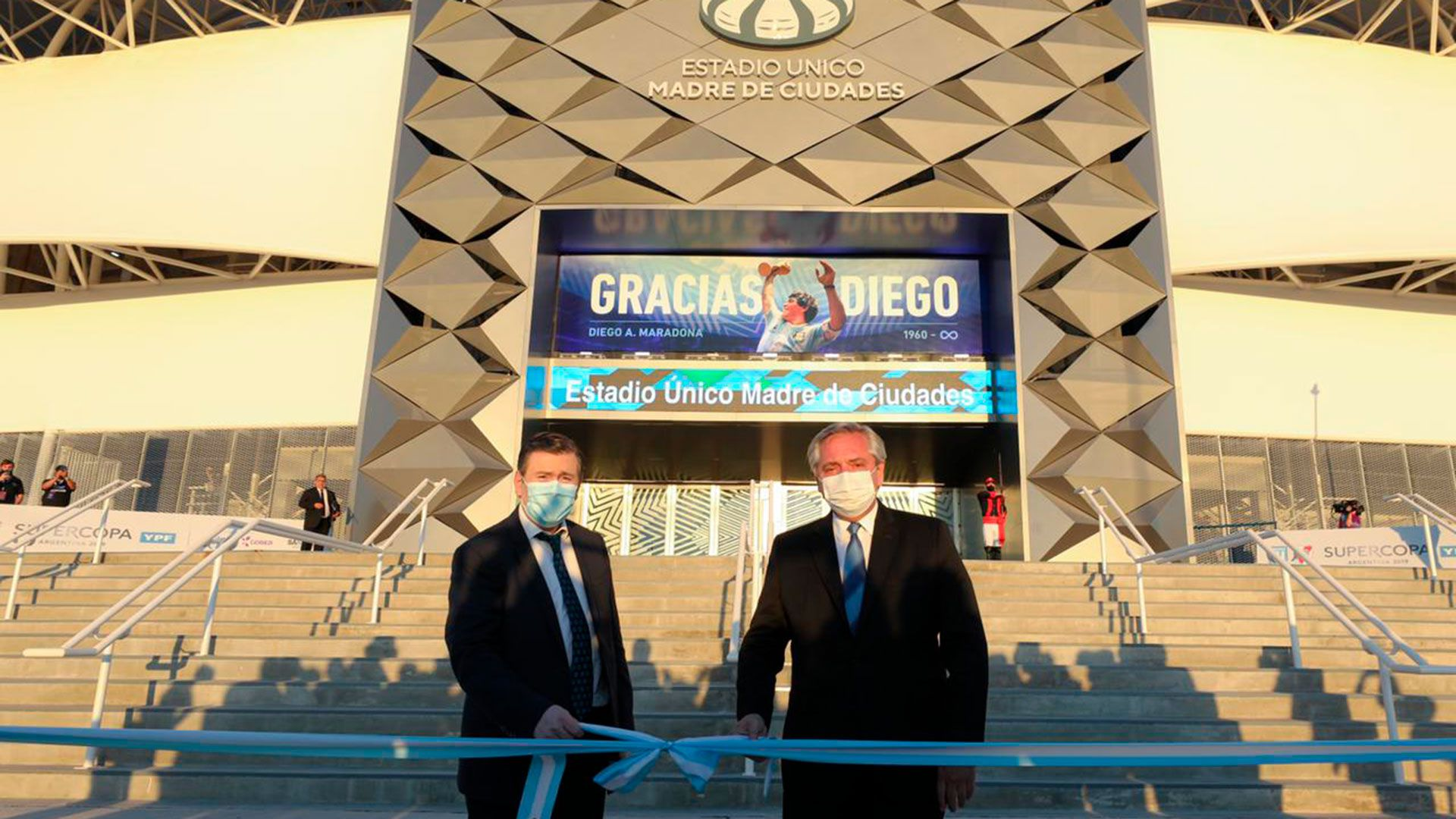 alberto fernandez inauguracion estadio santiago del estero zamor