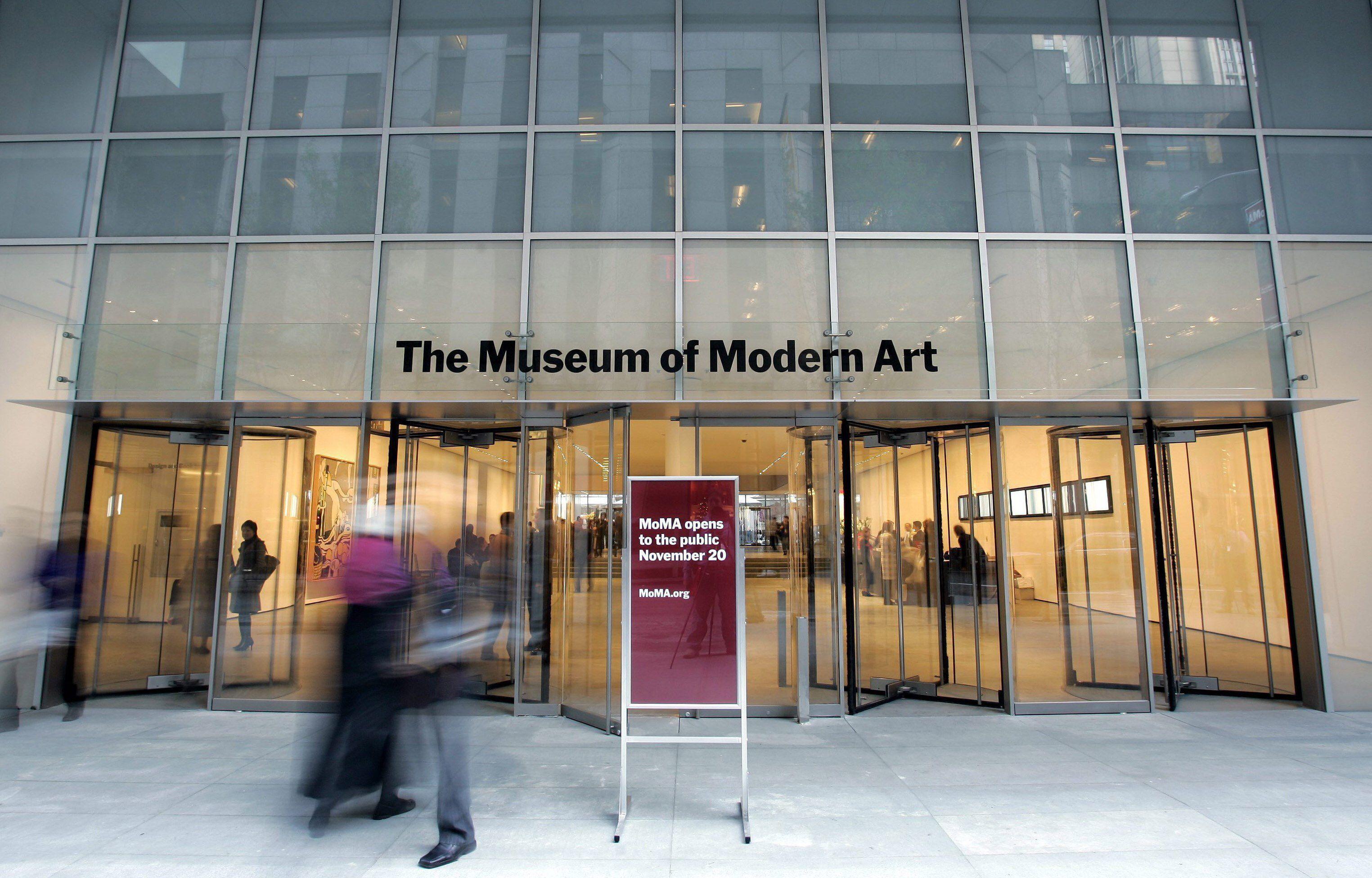 En la imagen, el Museo de Arte Moderno (MoMA) en Nueva York (Estados Unidos). EFE/Andrew Gombert/Archivo