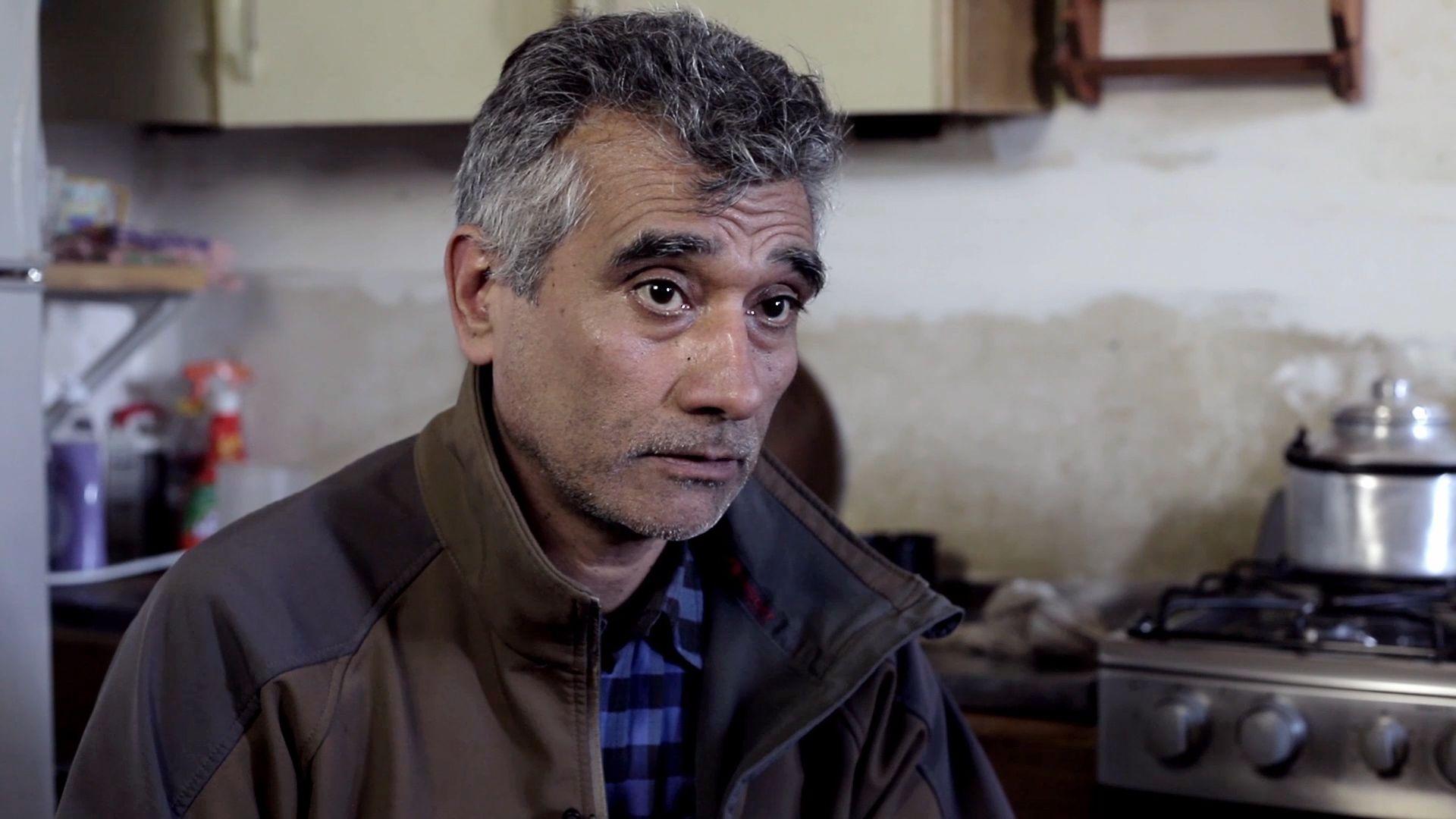 Alfredo Suasnabar, uno de los denunciantes de Gustavo Melella (Lihueel Althabe)
