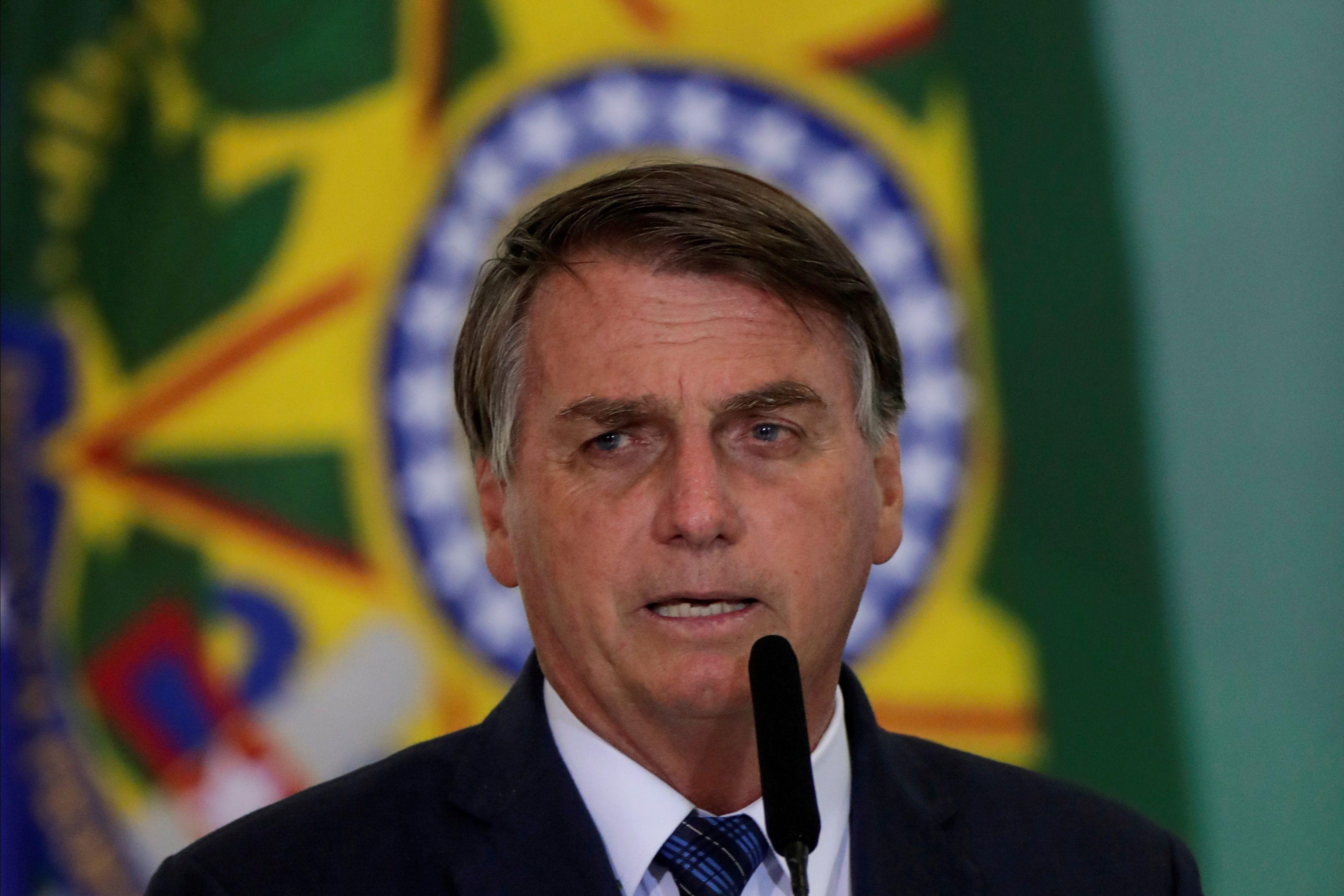 El presidente de Brasil, Jair Bolsonaro. Foto: REUTERS/Ueslei Marcelino