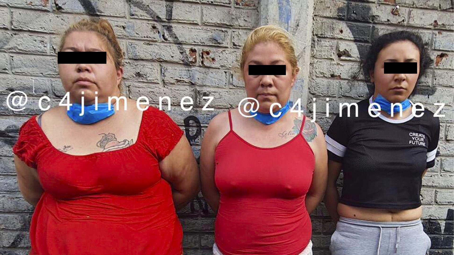 detención banda el El Pancho (Foto: Twitter@c4jimenez)