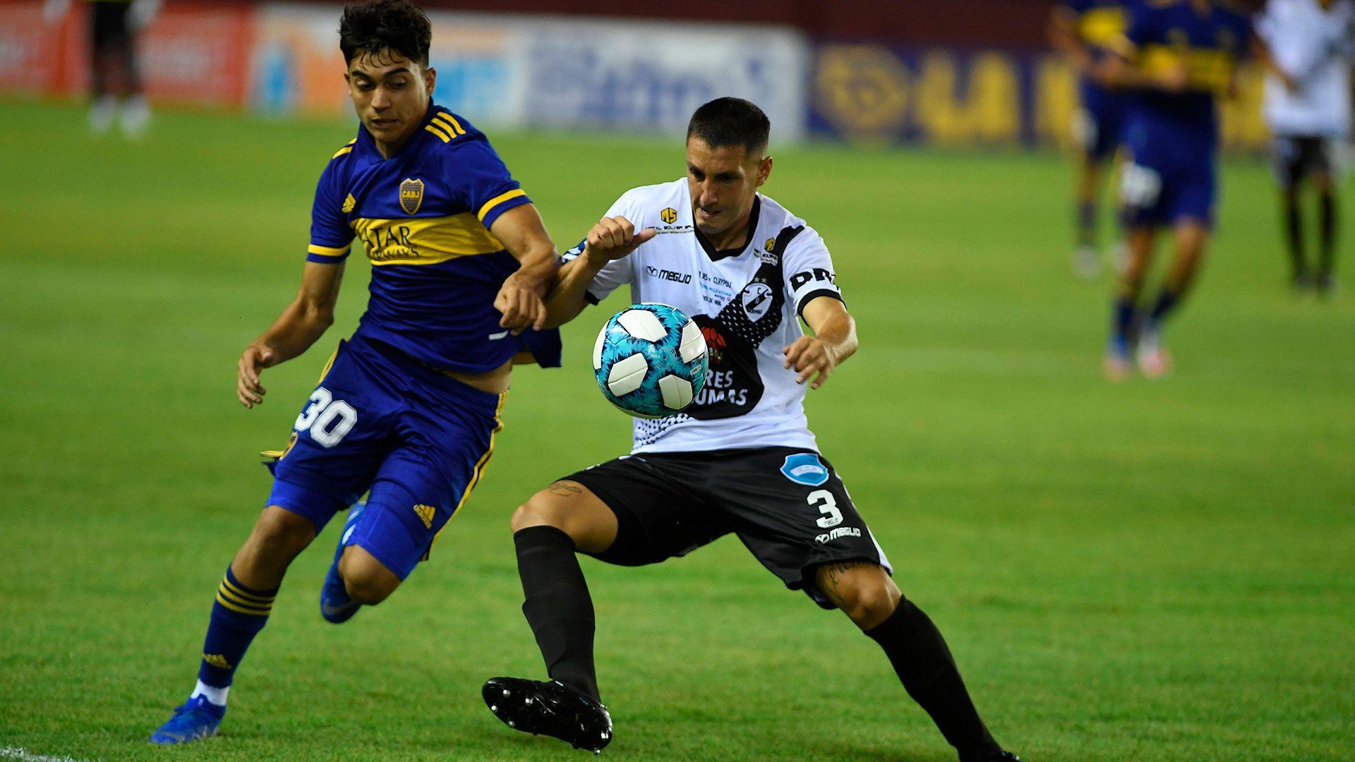 Boca Claypole copa argentina