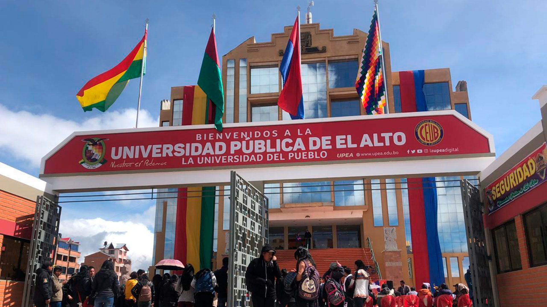 Universidad Publica de El Alto UPEA