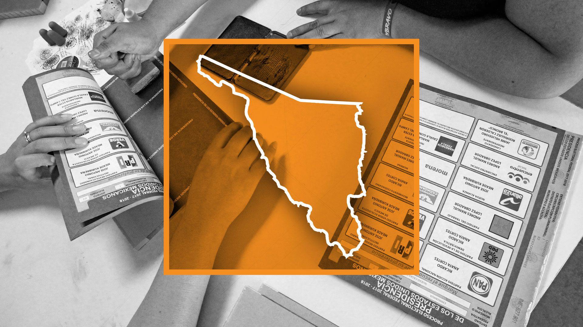 (Elecciones en México: Sonora (Ilustración: Jovani/Infobae)