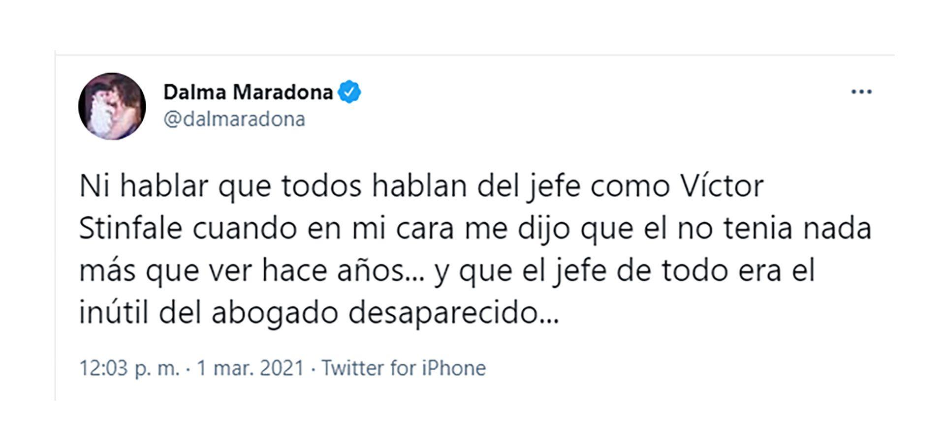 Tw Dalma Maradona