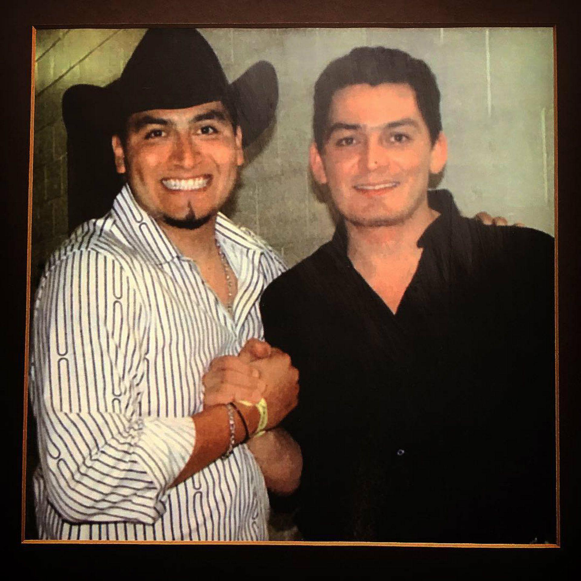 En agosto de 2018, José Manuel Figueroa compartió esta foto en Instagram para recordar a Trigo a 12 años de su muerte