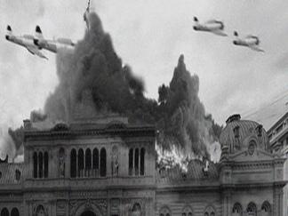 El horror de los bombardeos a civiles en la Plaza de Mayo, el 16 de junio de 1955.