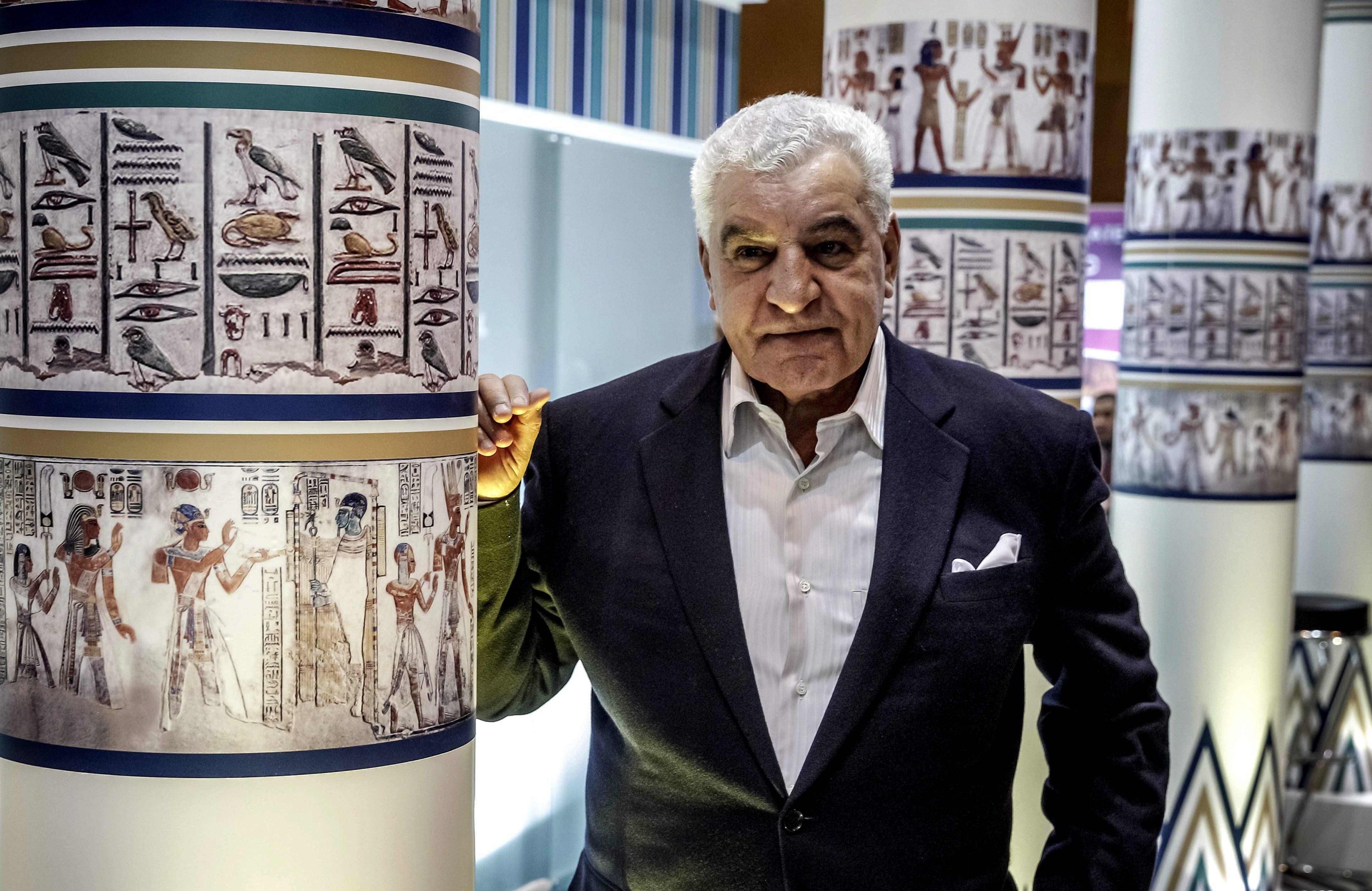 Uno de sus objetivos es recuperars el busto de Nefertiti que es la estrella del Museo Egipcio de Berlín EFE/Emilio Naranjo/Archivo
