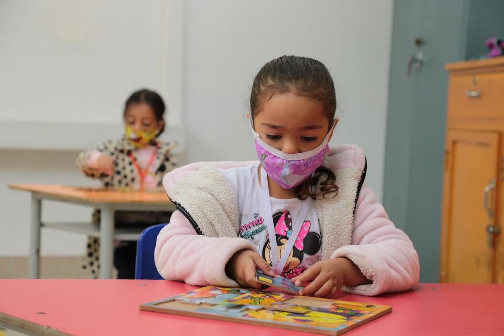 Regreso a clases colegios públicos en Bogotá. Foto: Secretaría Distrital de Educación.