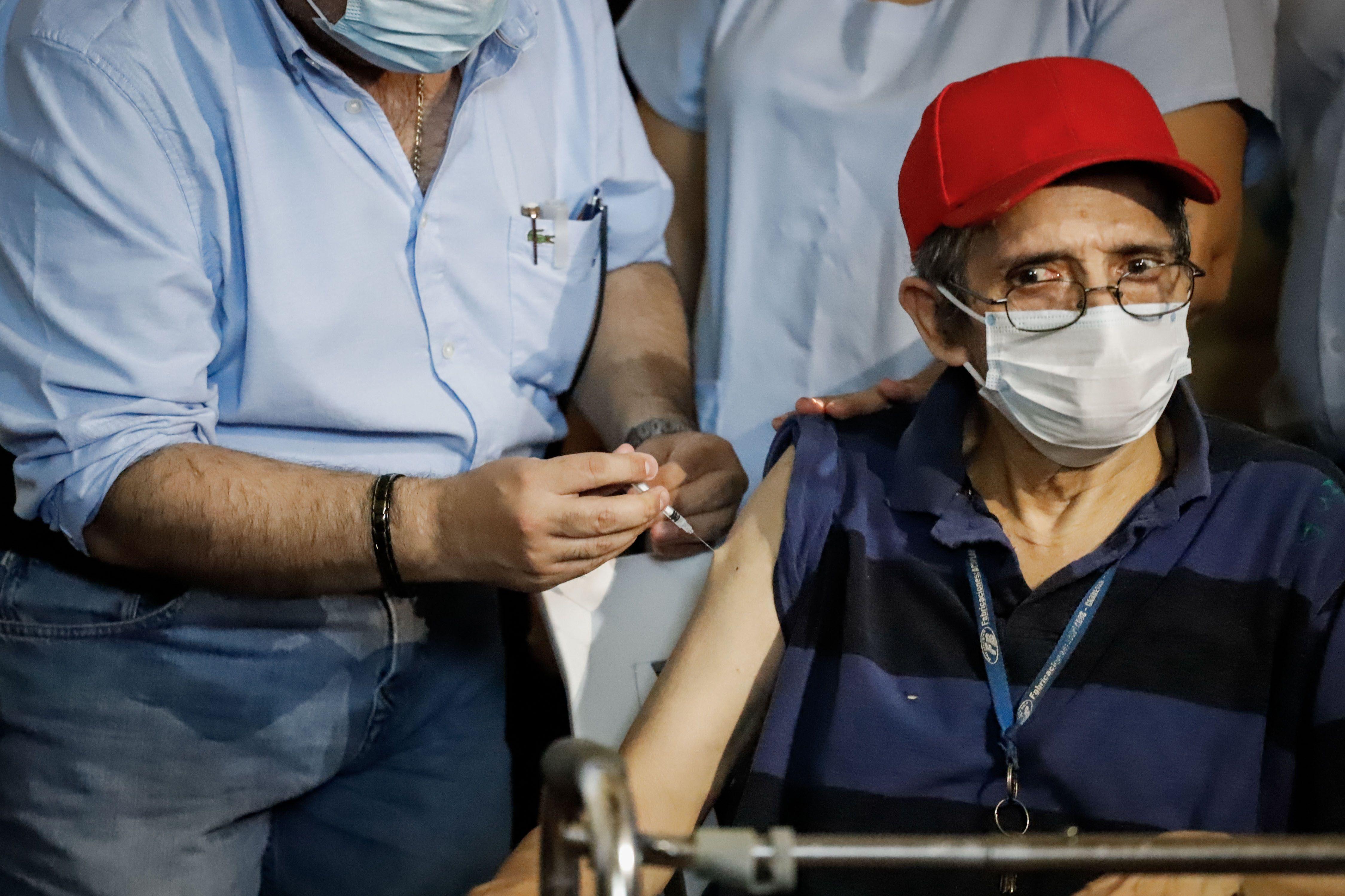 La ministra de Salud habló del plan de vacunación (EFE/Nathalia Aguilar)