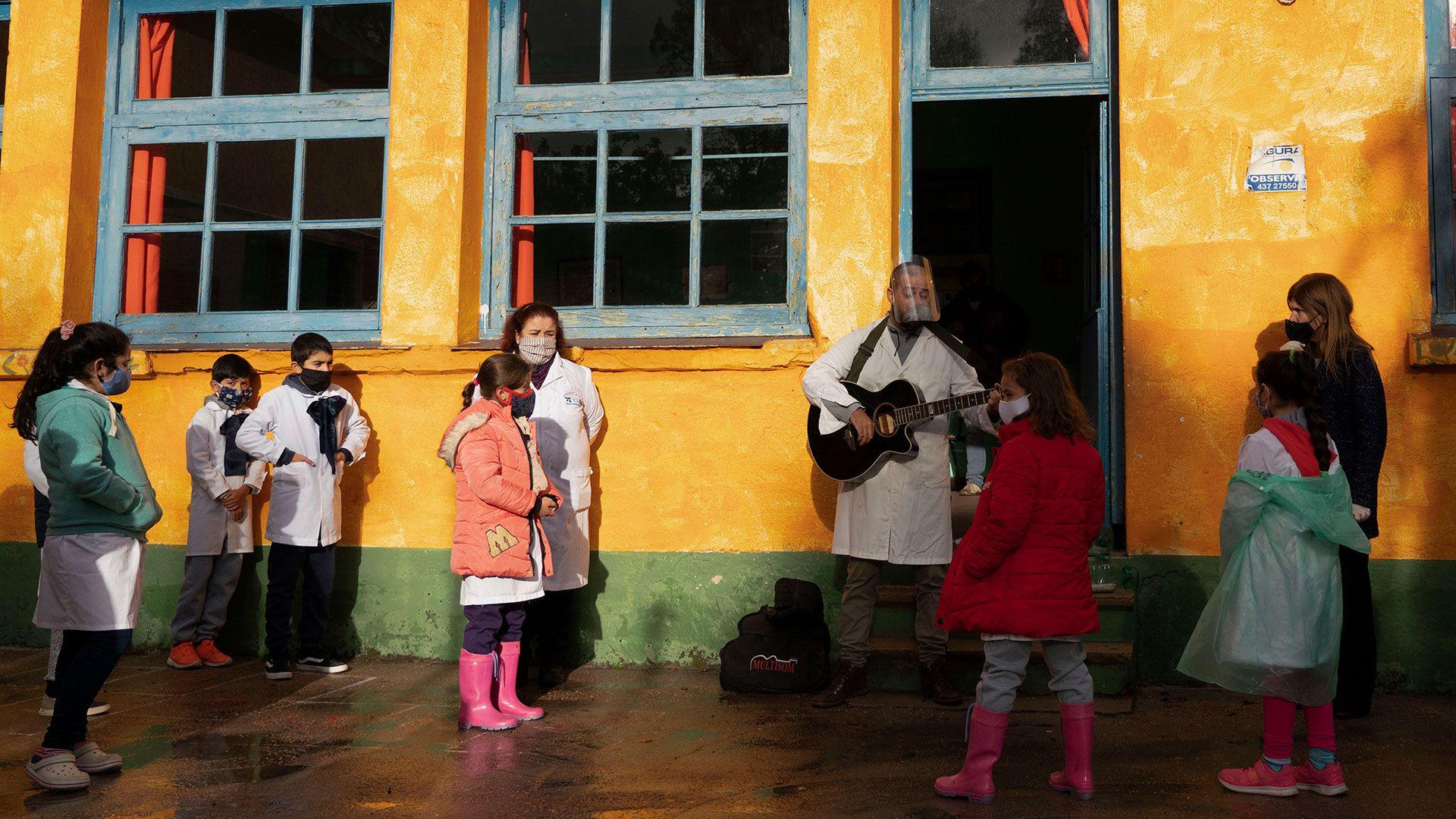 Vuelta a clases en Uruguay