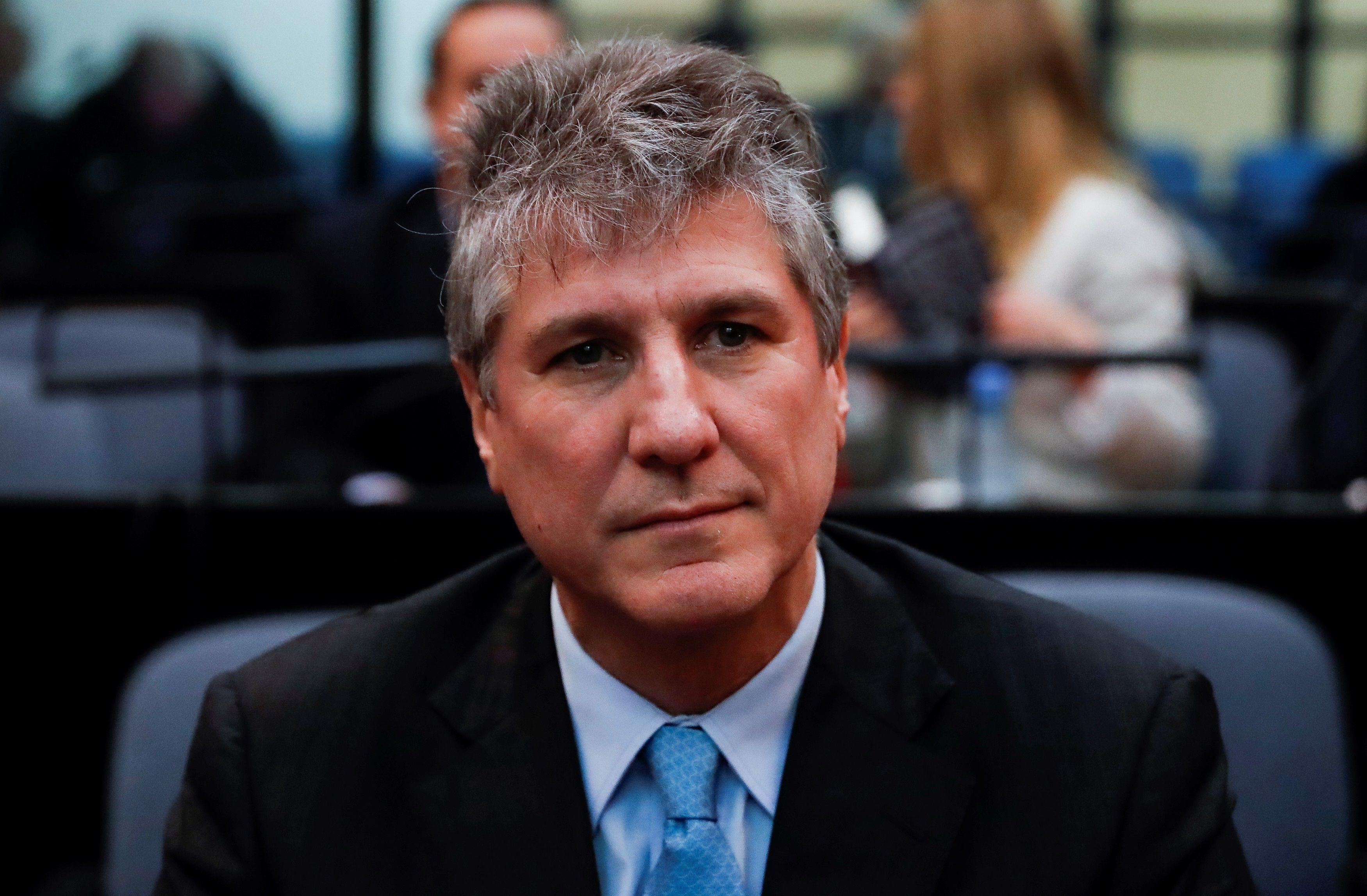 Fotografía de archivo del 7 de agosto de 2018, durante el juicio por la causa Ciccone (EFE)