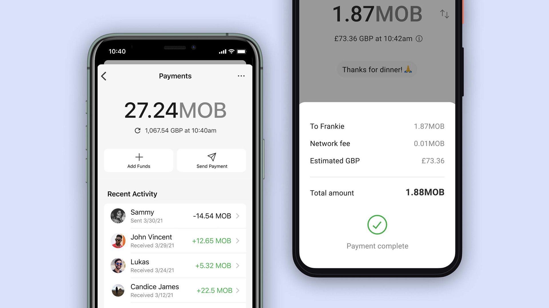 Pagos con la criptomoneda MobileCoin en Signal