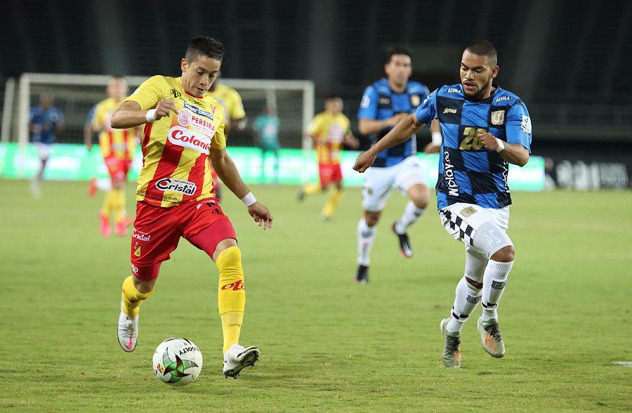 Deportivo Pereira y Boyacá Chicó igualaron en la fecha 12 de la Liga BetPlay. Vía Colprensa.