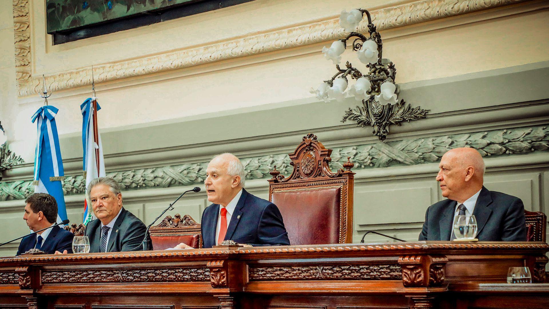 Miguel Lifschitz es actualmente presidente de la Cámara de Diputados de Santa Fe