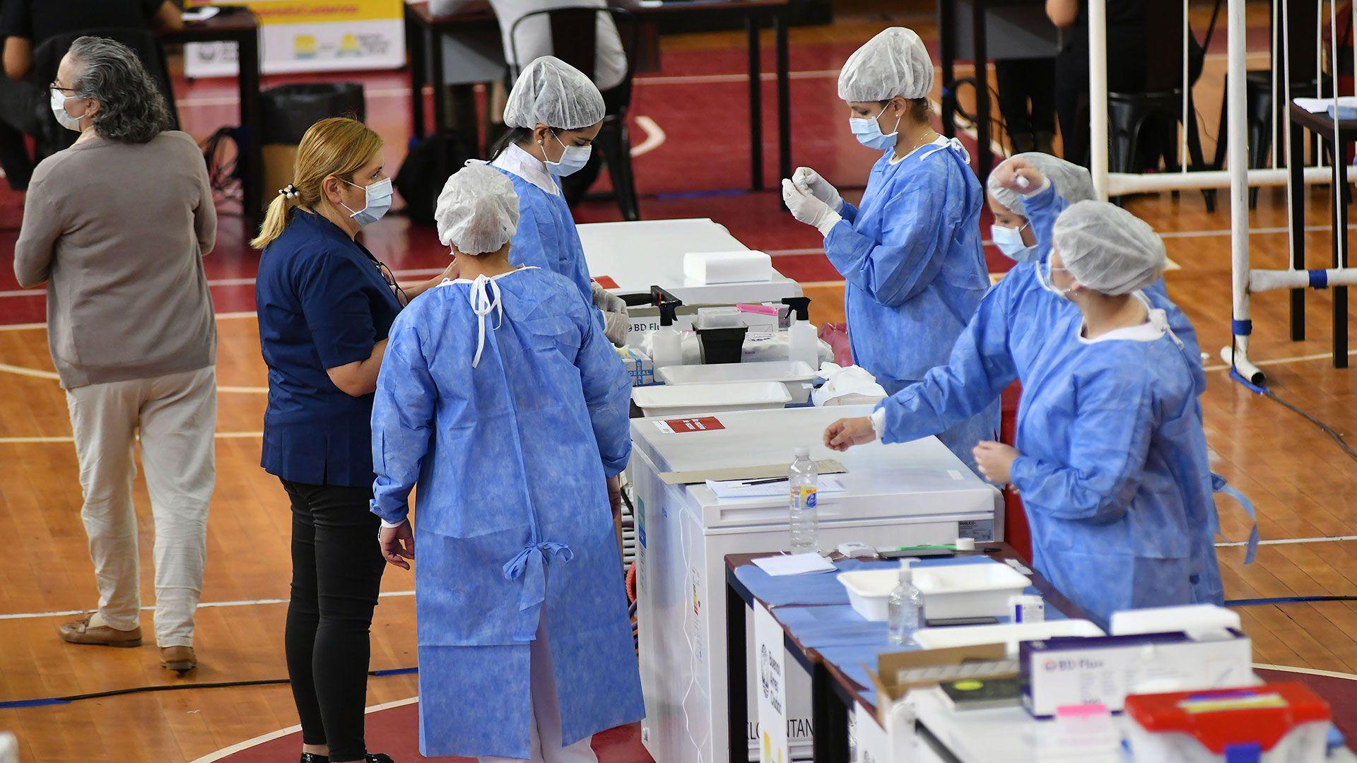 vacunacion personal de salud covid