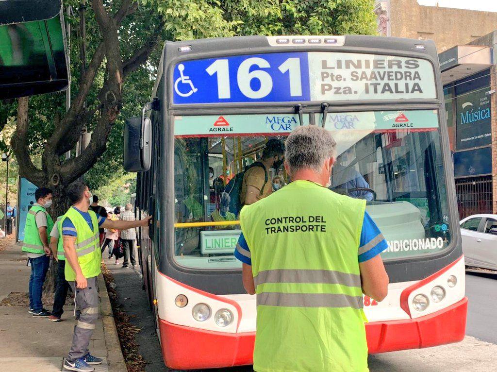 Controles CNRT Transporte Colectivos por vuelta a clases