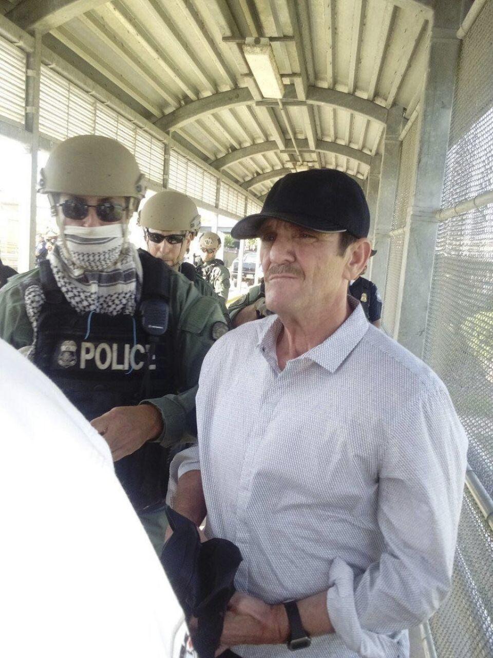 """Héctor Palma Salazar alías """"El Güero Palma"""", fundador del cártel de Sinaloa"""", fue entregado por autoridades de Estados Unidos, tras pagar su condena por crímenes de narcotráfico en aquel país. FOTO: RED DE PERIODISTAS DEL NOROESTE  /CUARTOSCURO"""