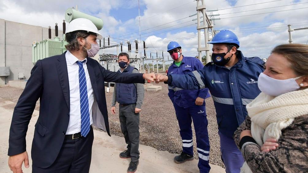 La planta que inauguró Cafiero beneficia a 290 mil habitantes y en un futuro lo hará a 400 mil,