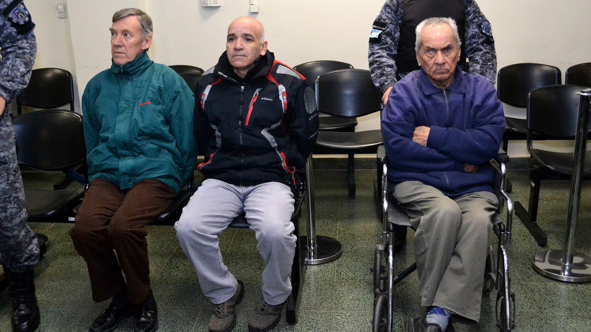El sacerdote Horacio Hugo Corbacho Blanck fue condenado a 45 años de prisión, el cura italiano Nicola Corradi recibió una pena de 42 años y el ex jardinero Armando Gómez fue sentenciado a 18 años (AFP)