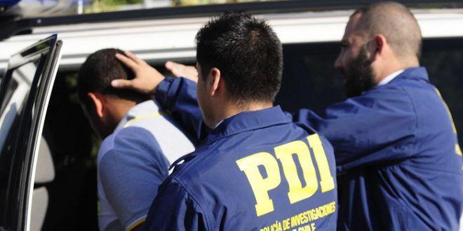 PDI POlicía de Investigaciones atrapa a femicida estafador en Chile