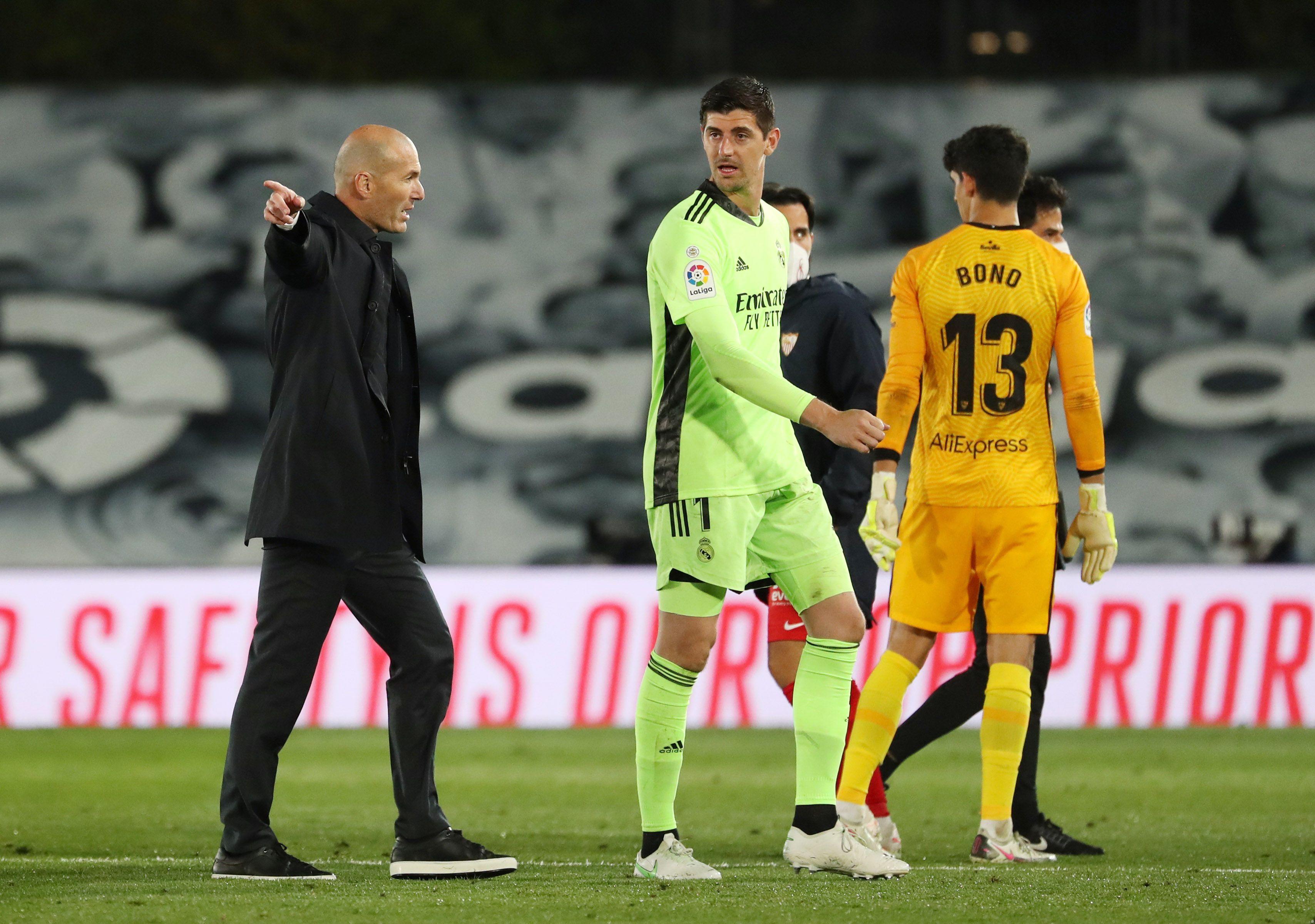 El Real Madrid ya no depende de sí mismo para ser campeón de liga (Reuters)