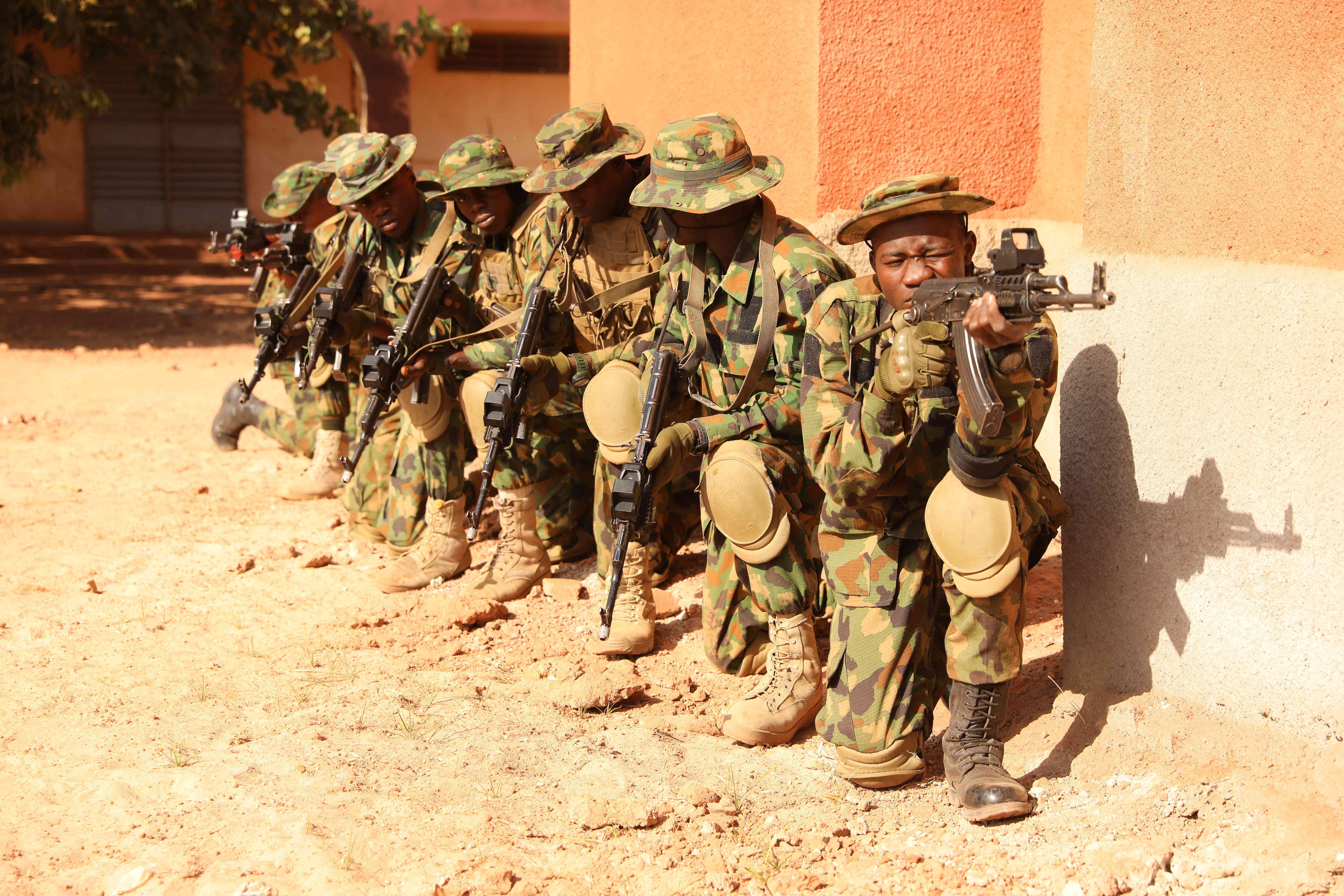 13/12/2020 Soldados nigerianos POLITICA AFRICA NIGERIA KYLE M. ALVAREZ / ZUMA PRESS / CONTACTOPHOTO