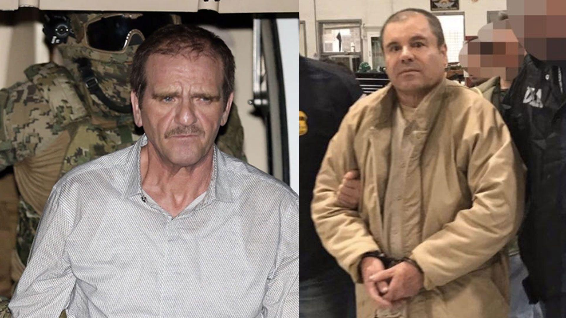 """""""El Güero"""" y """"El Chapo"""" eran amigos cercanos desde que trabajaban en el Cártel de Guadalajara (Foto: AFP, Archivo)"""