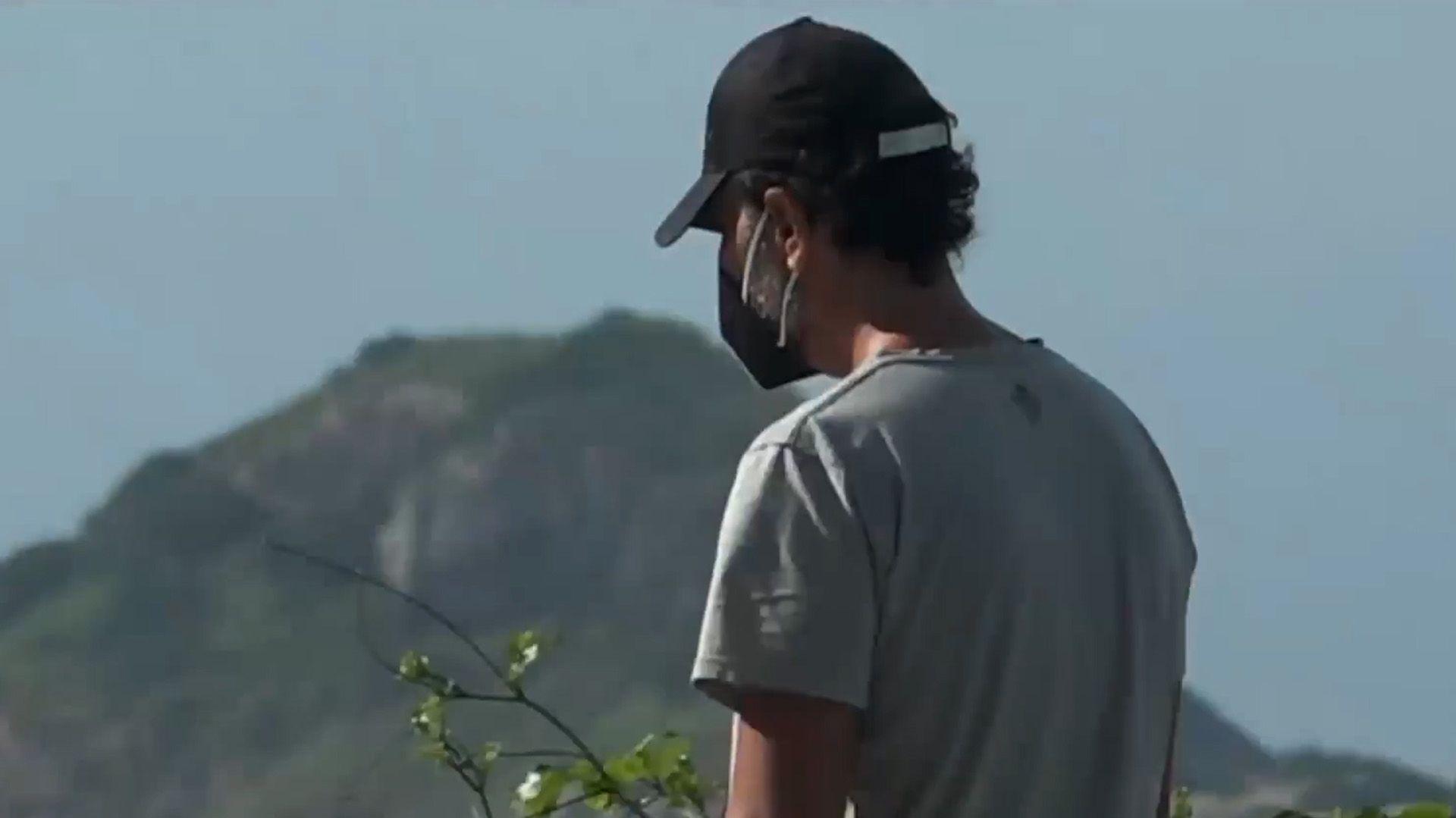 Juan Darthés rompió el silencio en la televisión brasileña