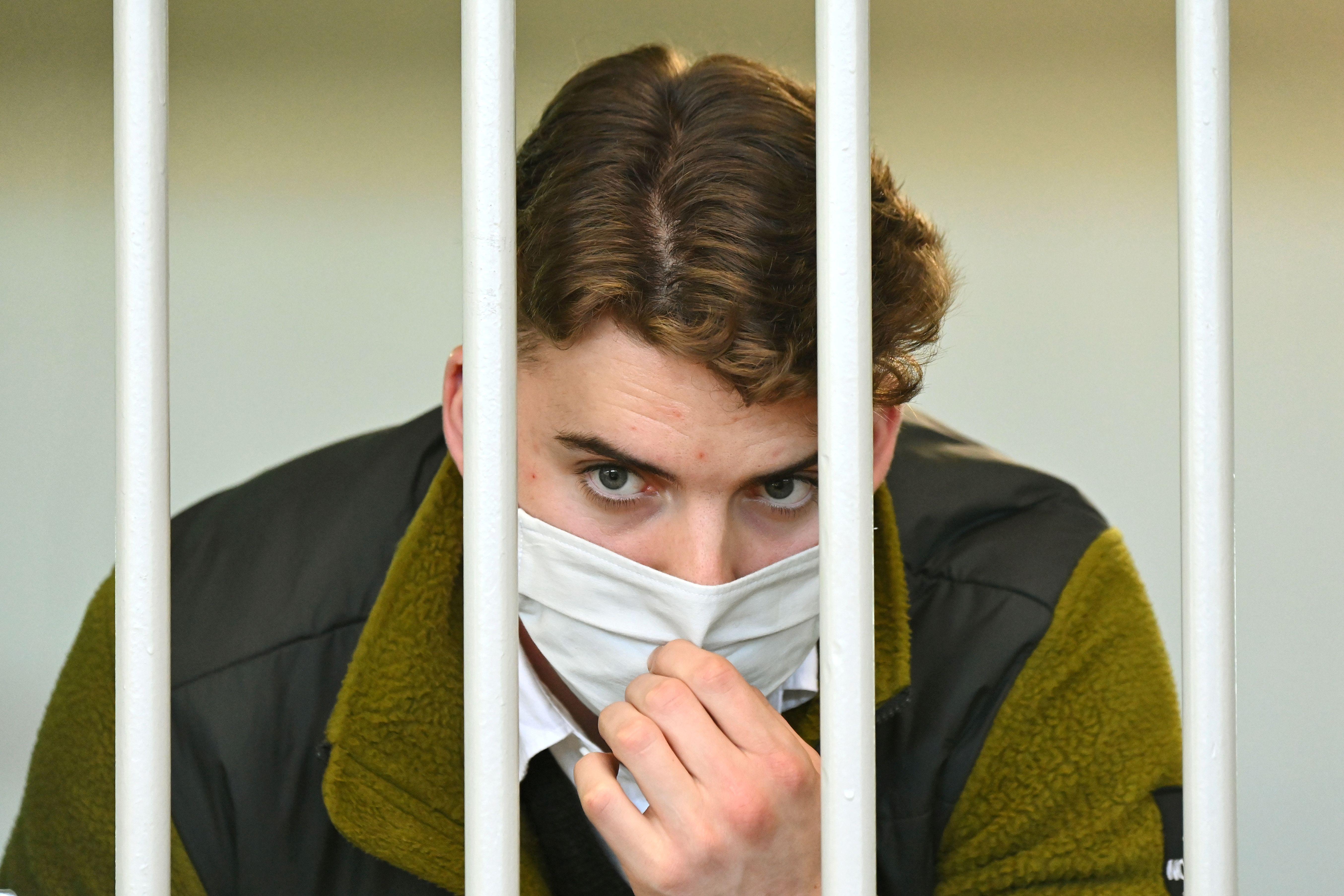 Gabriel Natale-Hjorth, uno de los acusados por el asesinato del policía en Roma
