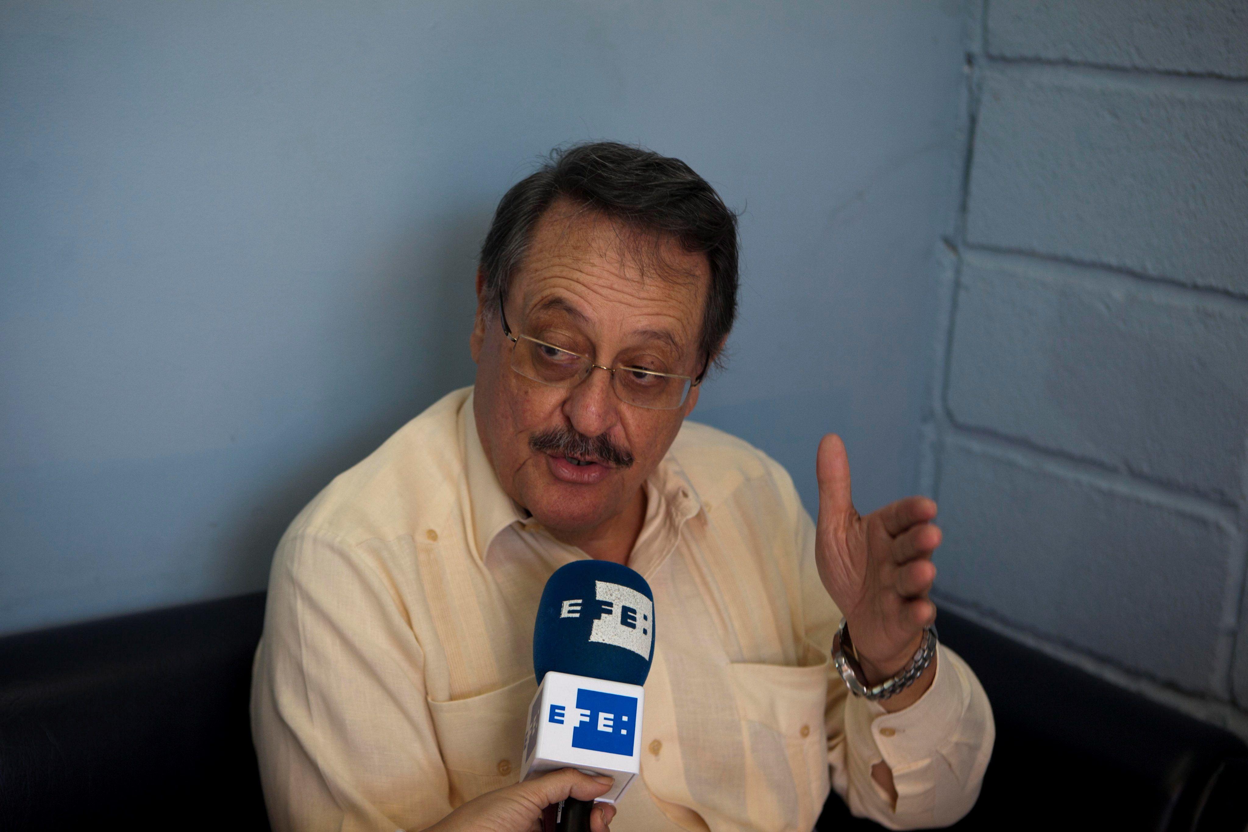 En la imagen, el exfiscal general del Estado Ángel Edmundo Orellana. EFE/Gustavo Amador/Archivo