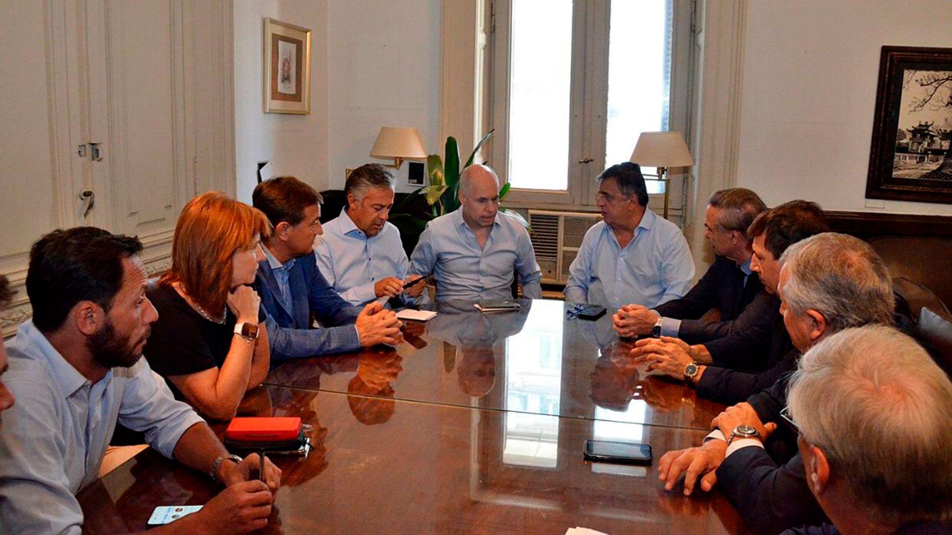La mesa nacional de Juntos por el Cambio mantuvo una reunión virtual en la que fijó su rechazo al proyecto del Gobierno