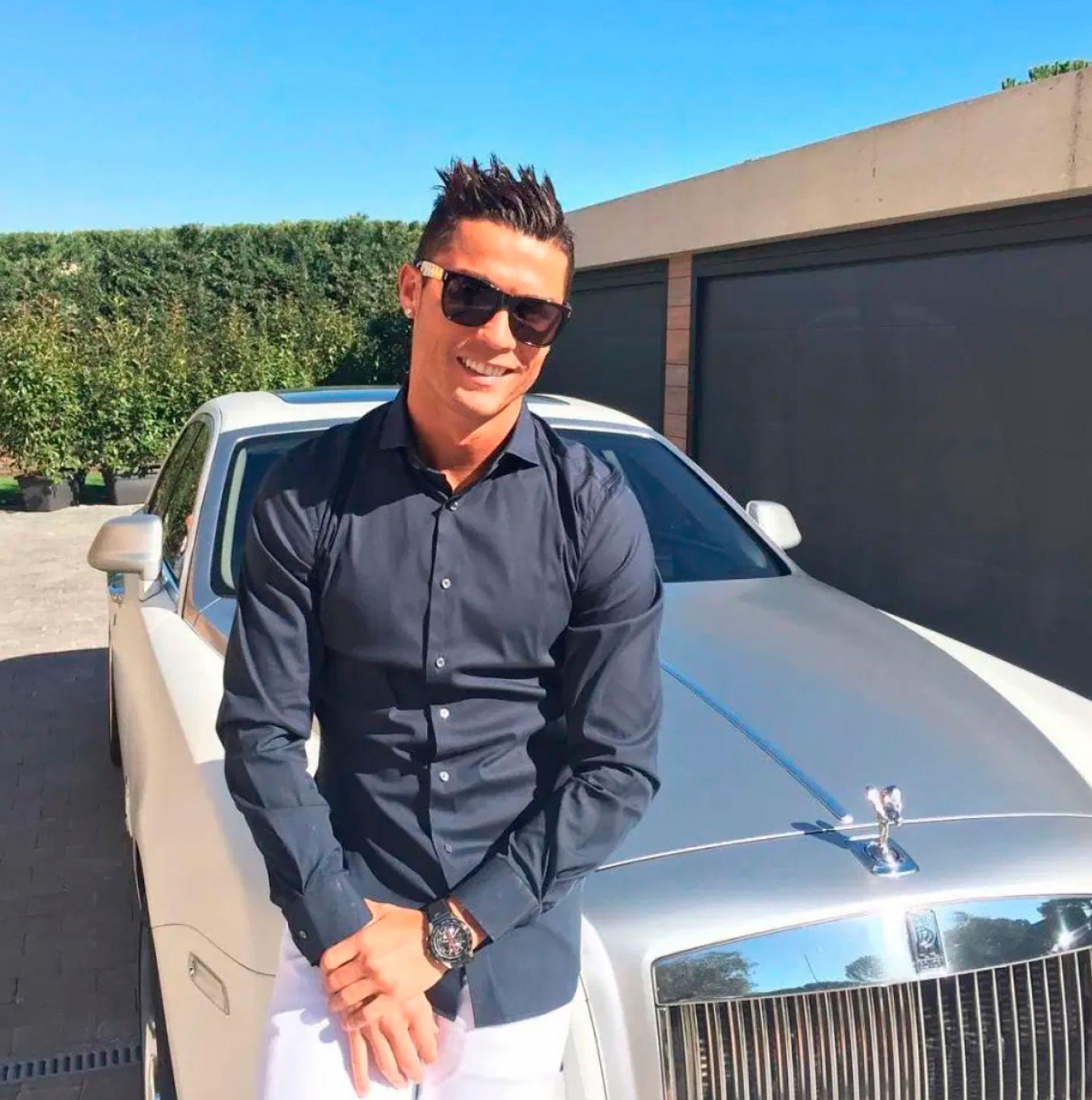 Cristiano Ronaldo colección autos