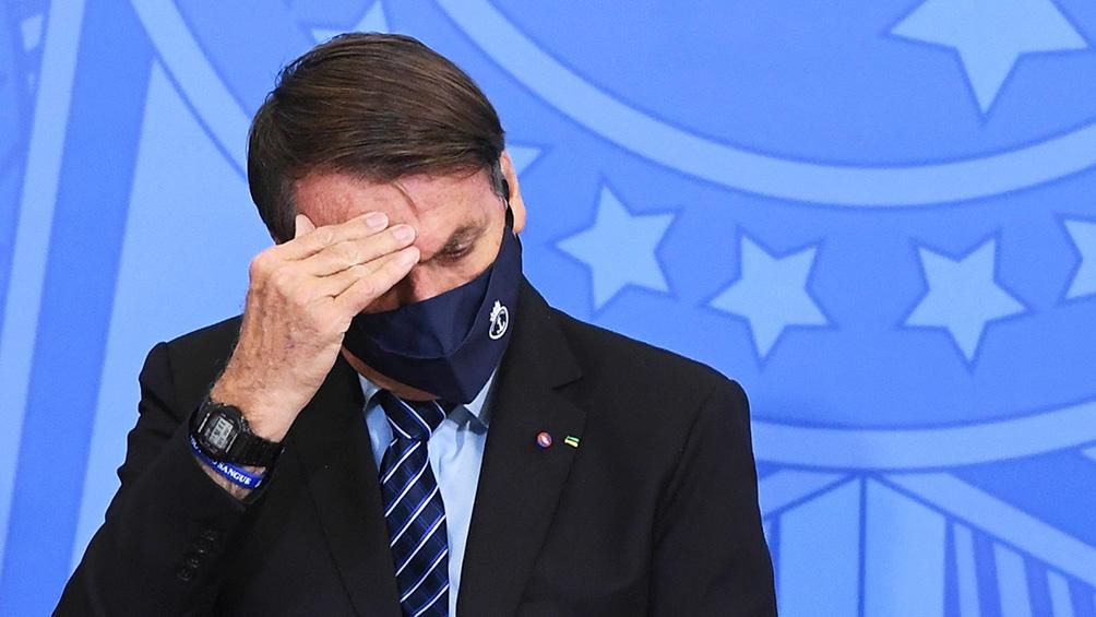 Bolsonaro, blanco de críticas por la disputa de la Copa América, que llegó a la Corte para contar con la autorización para la disputa del torneo