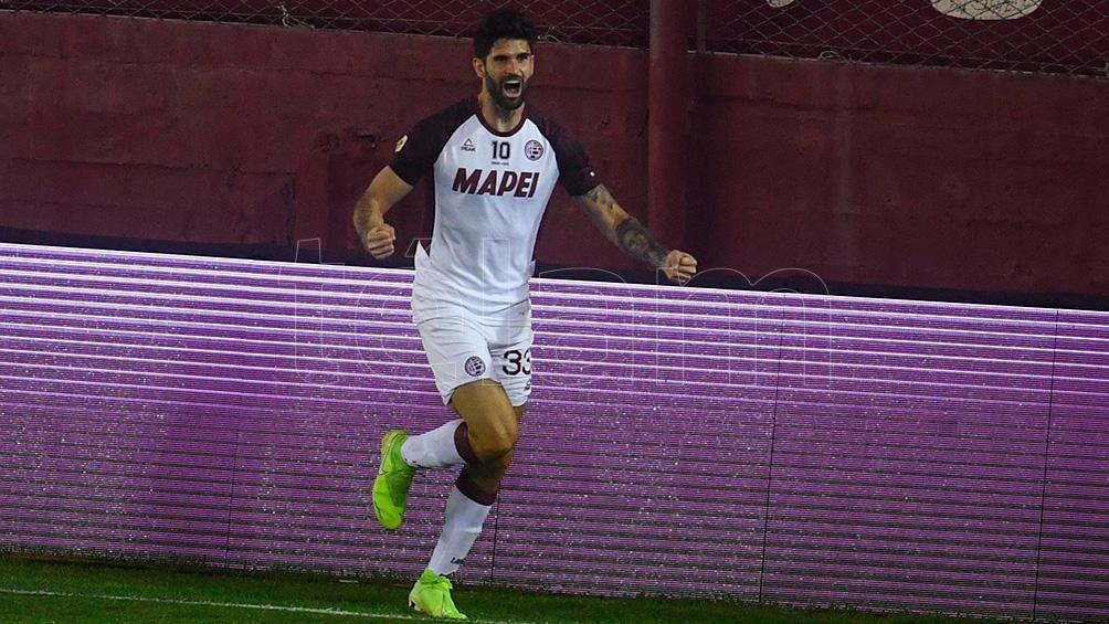 Nicolás Orsini, el delantero goleador de Lanús que jugará en Boca (foto archivo)